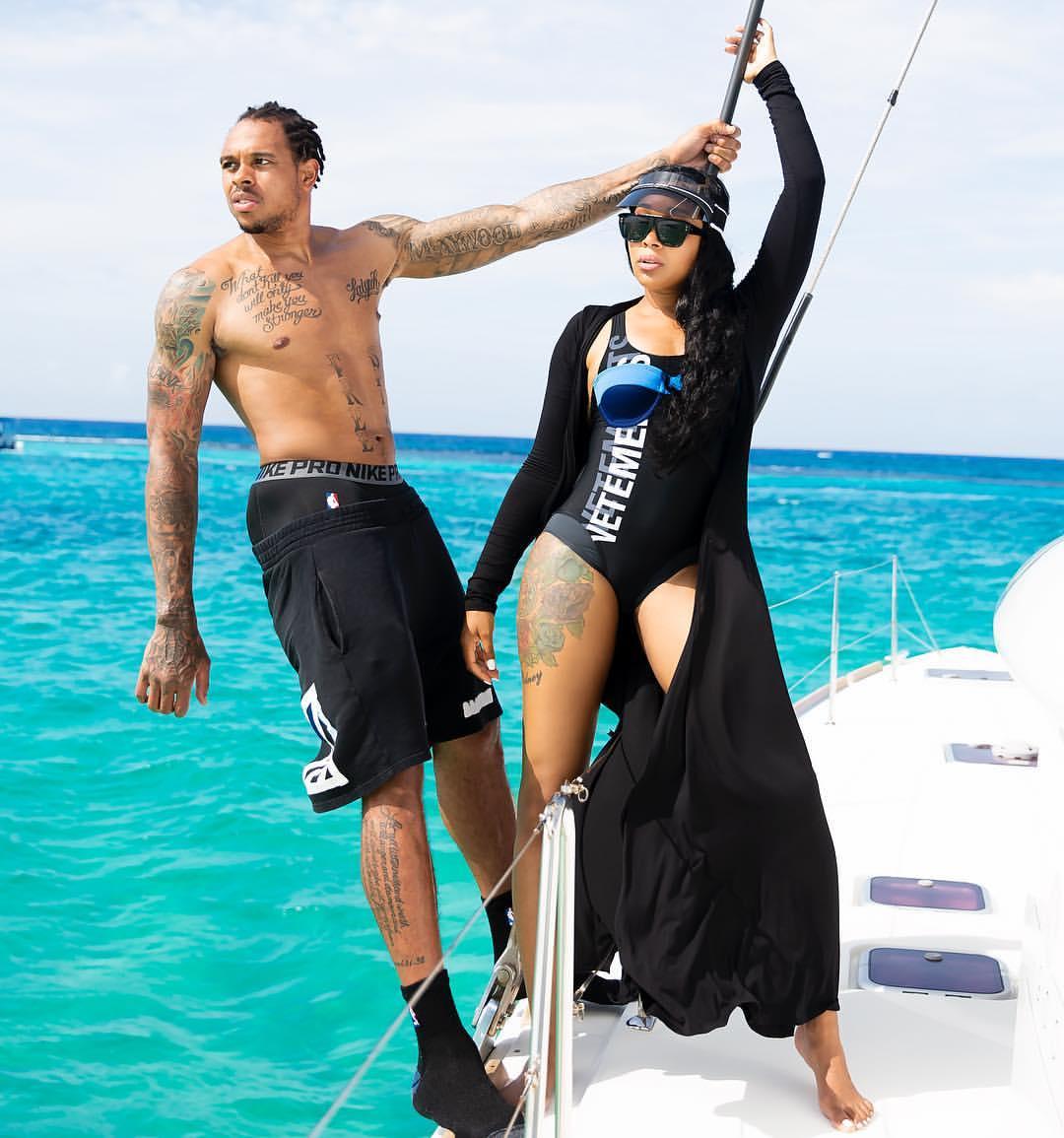 Wardrobe Breakdown: Monica Brown In Cayman Islands