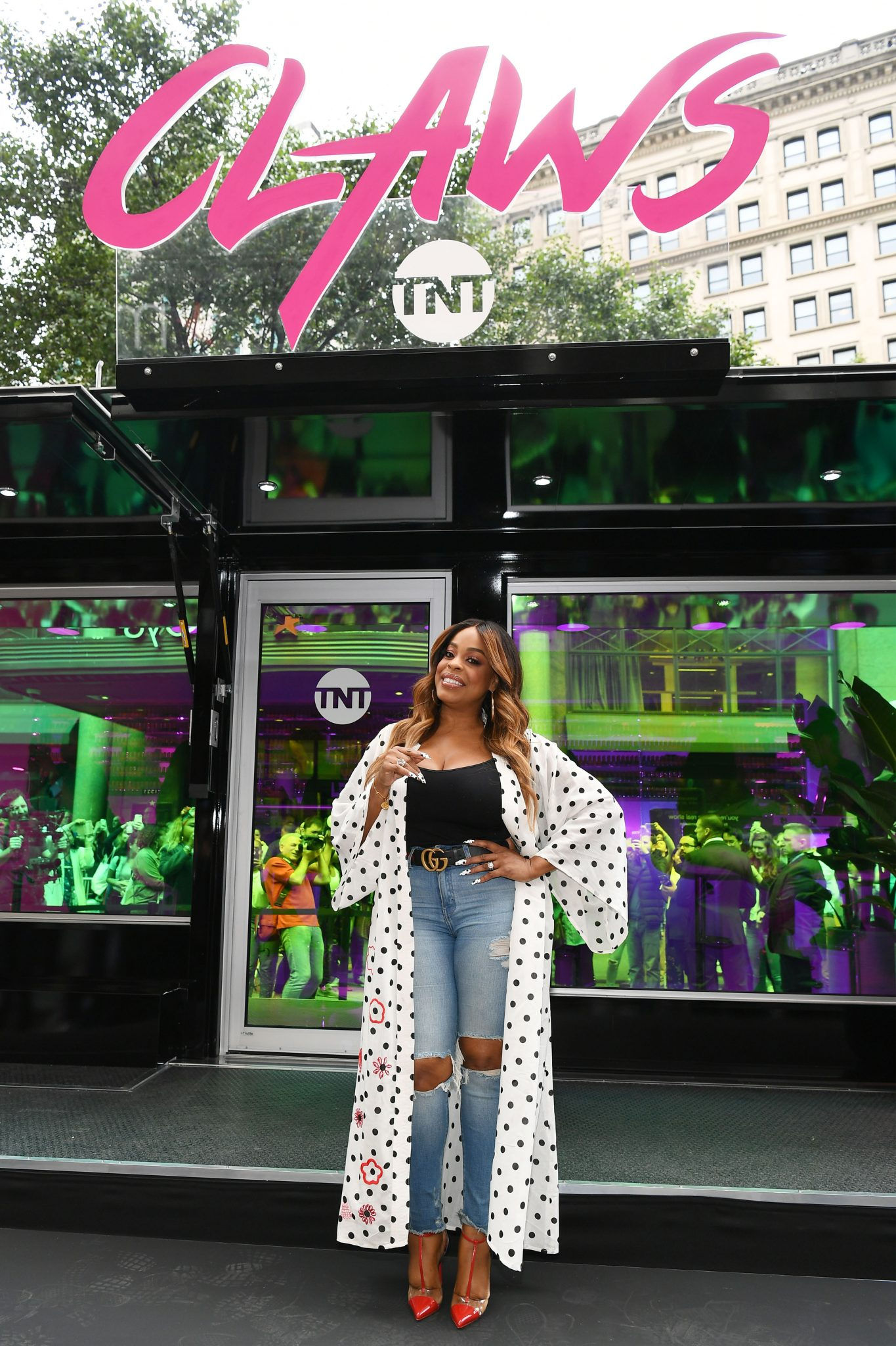 TNT's CLAWS Presents the #ClawsUp Tour New York With Niecy Nash