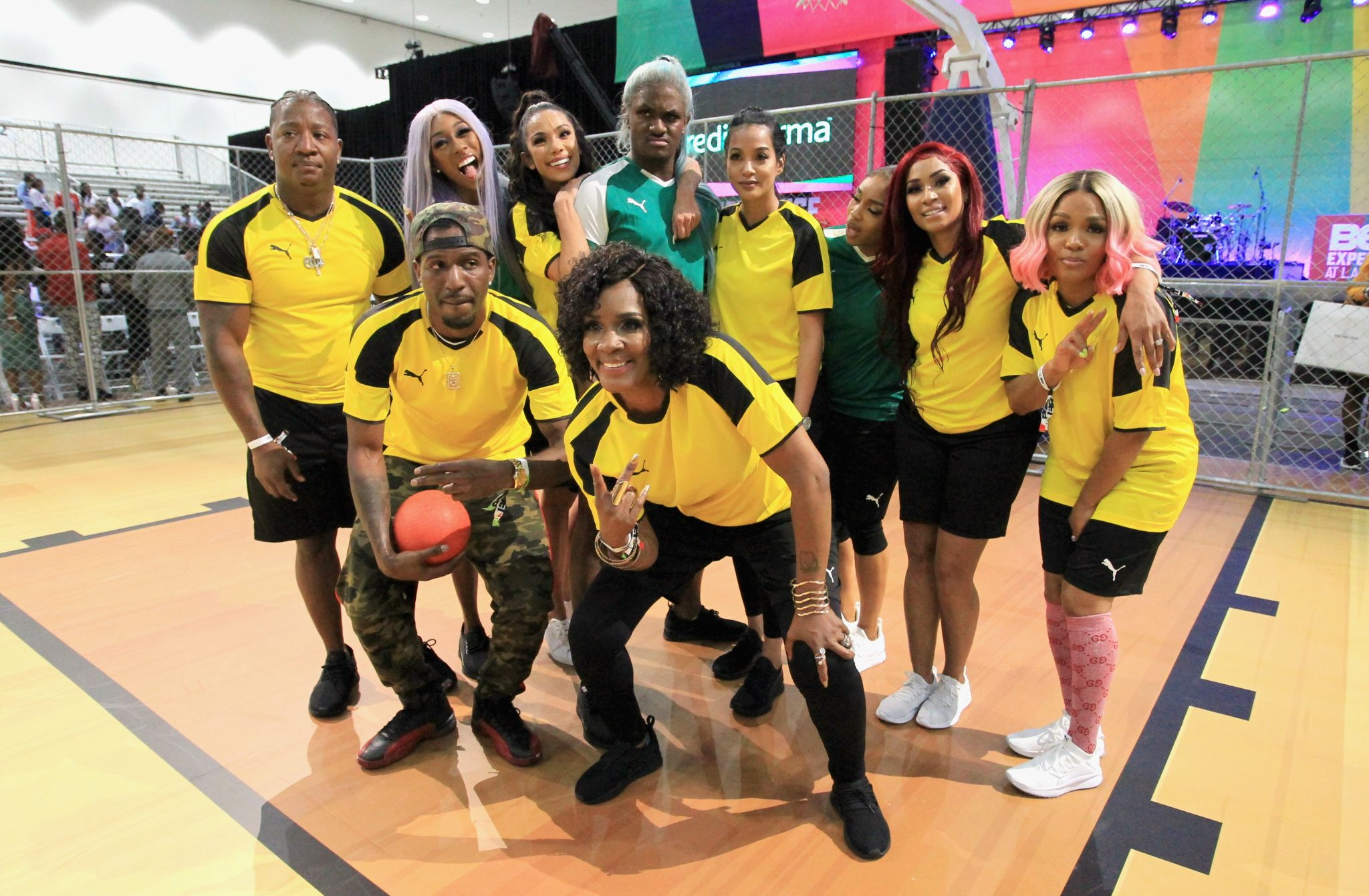 Celebrity Dodgeball Game At 2018 BET Experience Fan Fest