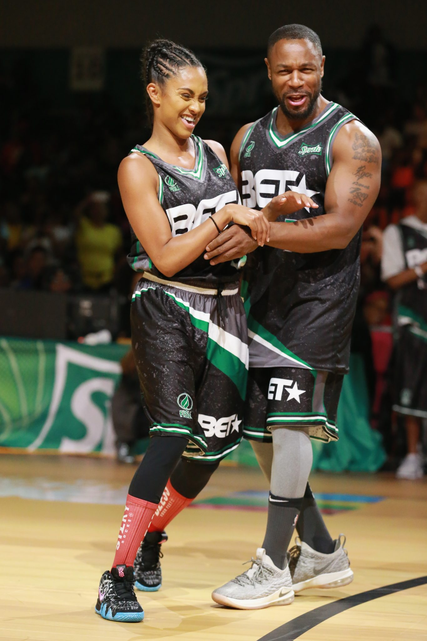 BET Experience Celebrity Basketball Game In Los Angeles