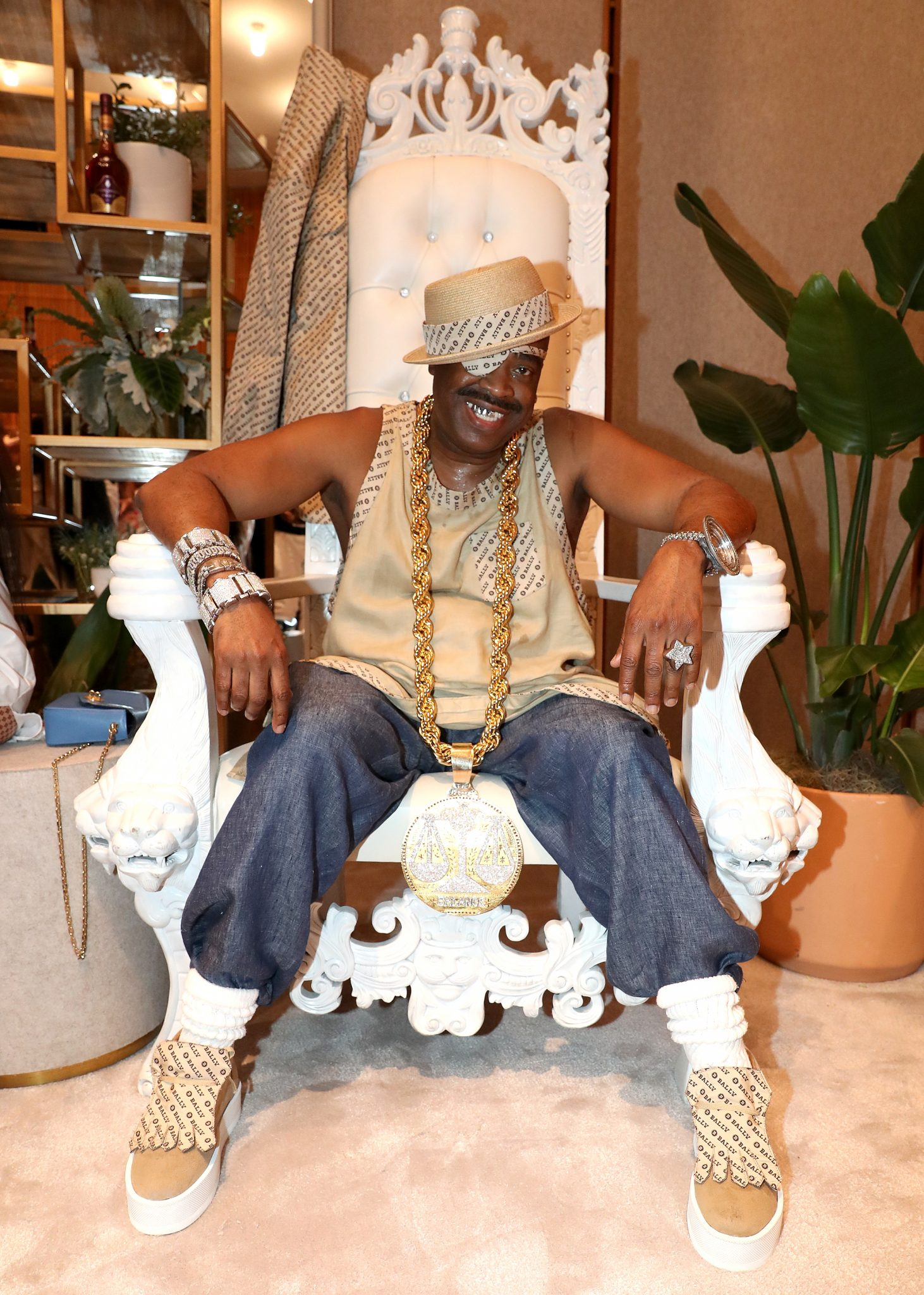 """Bally x Slick Rick """"Celebrate The 30th Anniversary Of The Great Adventures Of Slick Rick"""""""