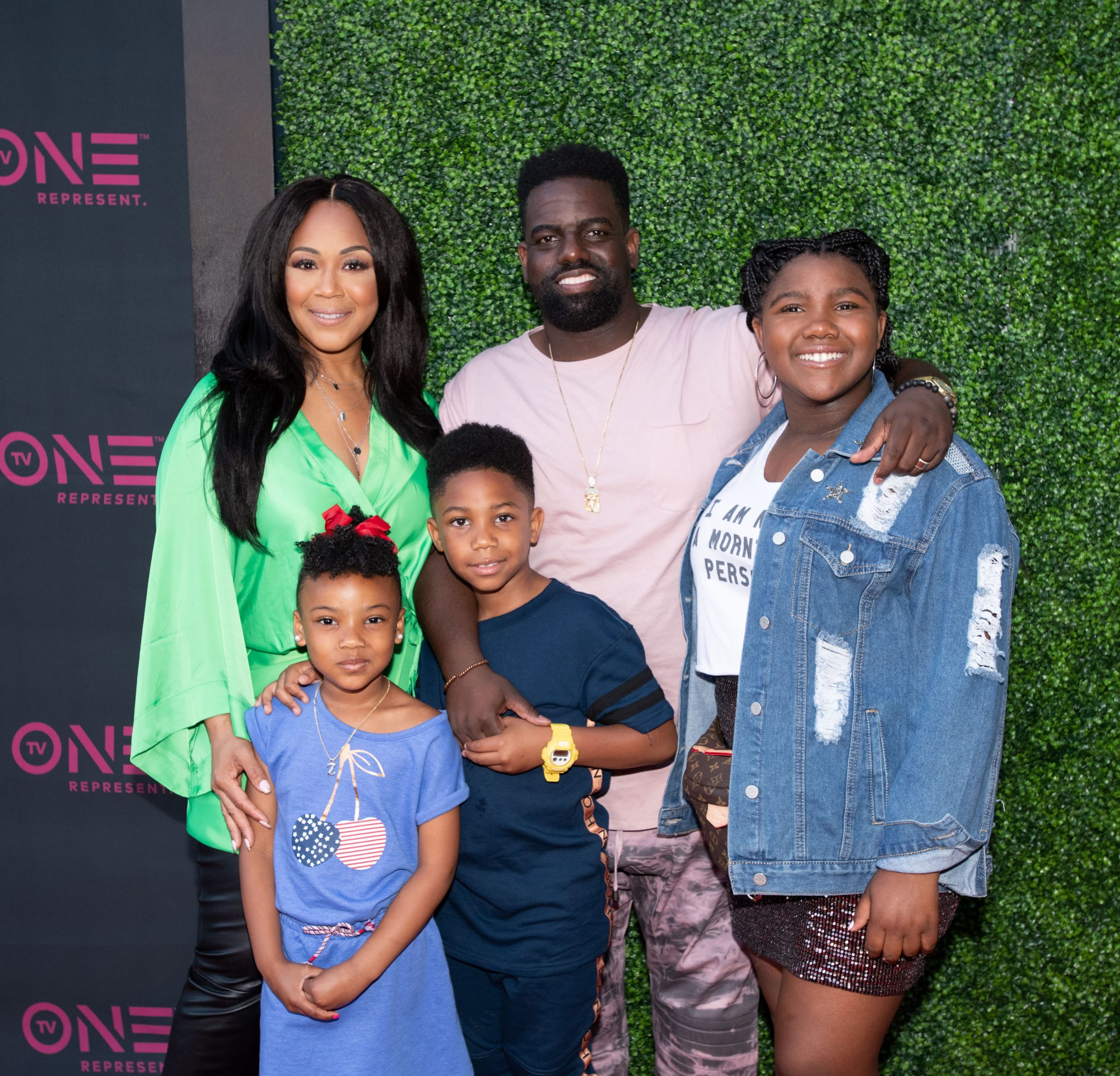 """Erica & Warryn Campbell At Red Carpet Premiere of TV One's """"We're The Campbells"""" In Los Angeles"""