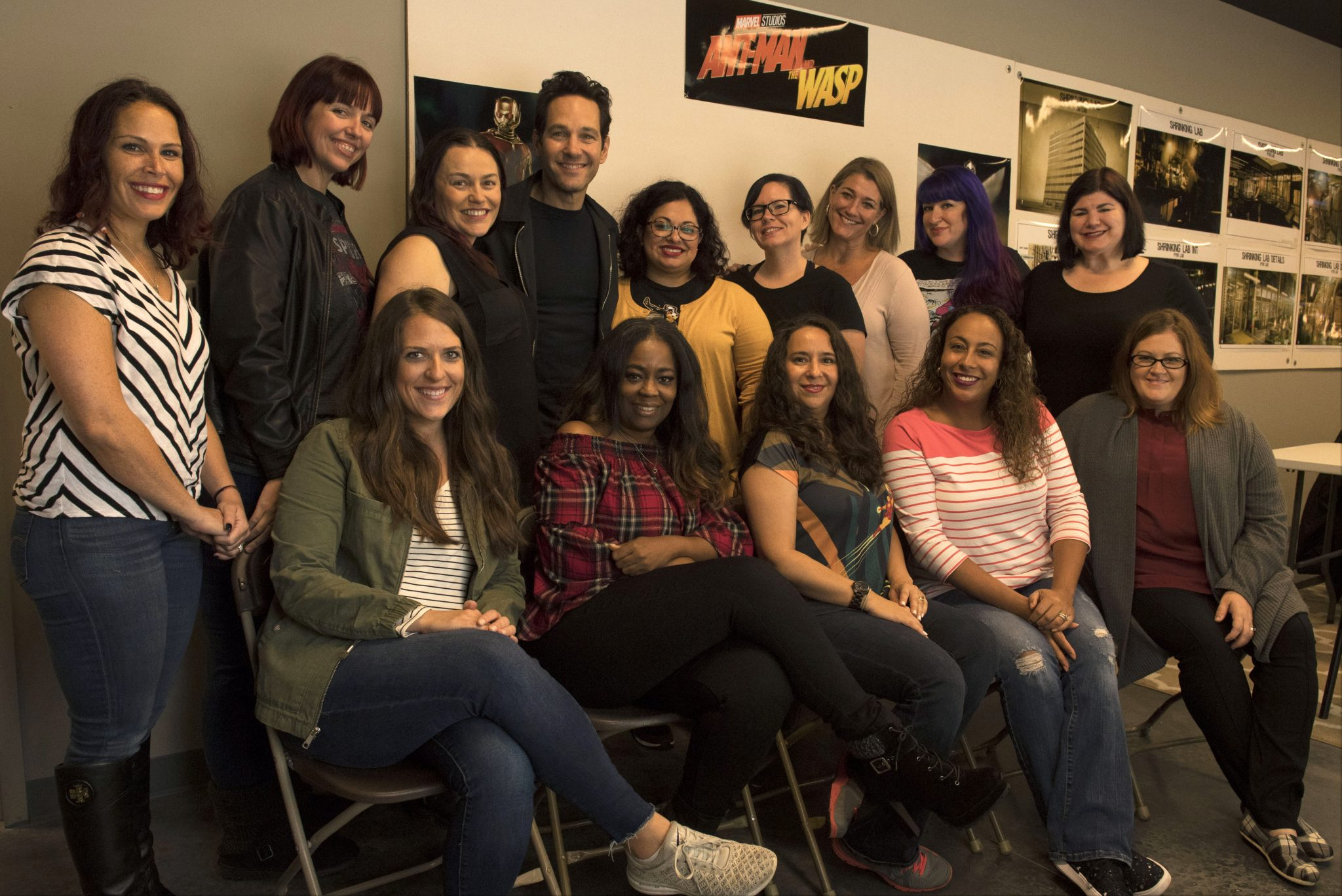 One On One With Actor Paul Rudd From Ant-Man And The Wasp
