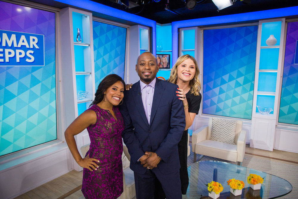 In Case You Missed It: Omar Epps On The Today Show