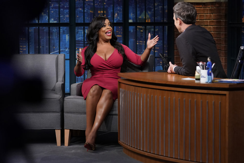 In Case You Missed It: Niecy Nash On The Late Night with Seth Meyers