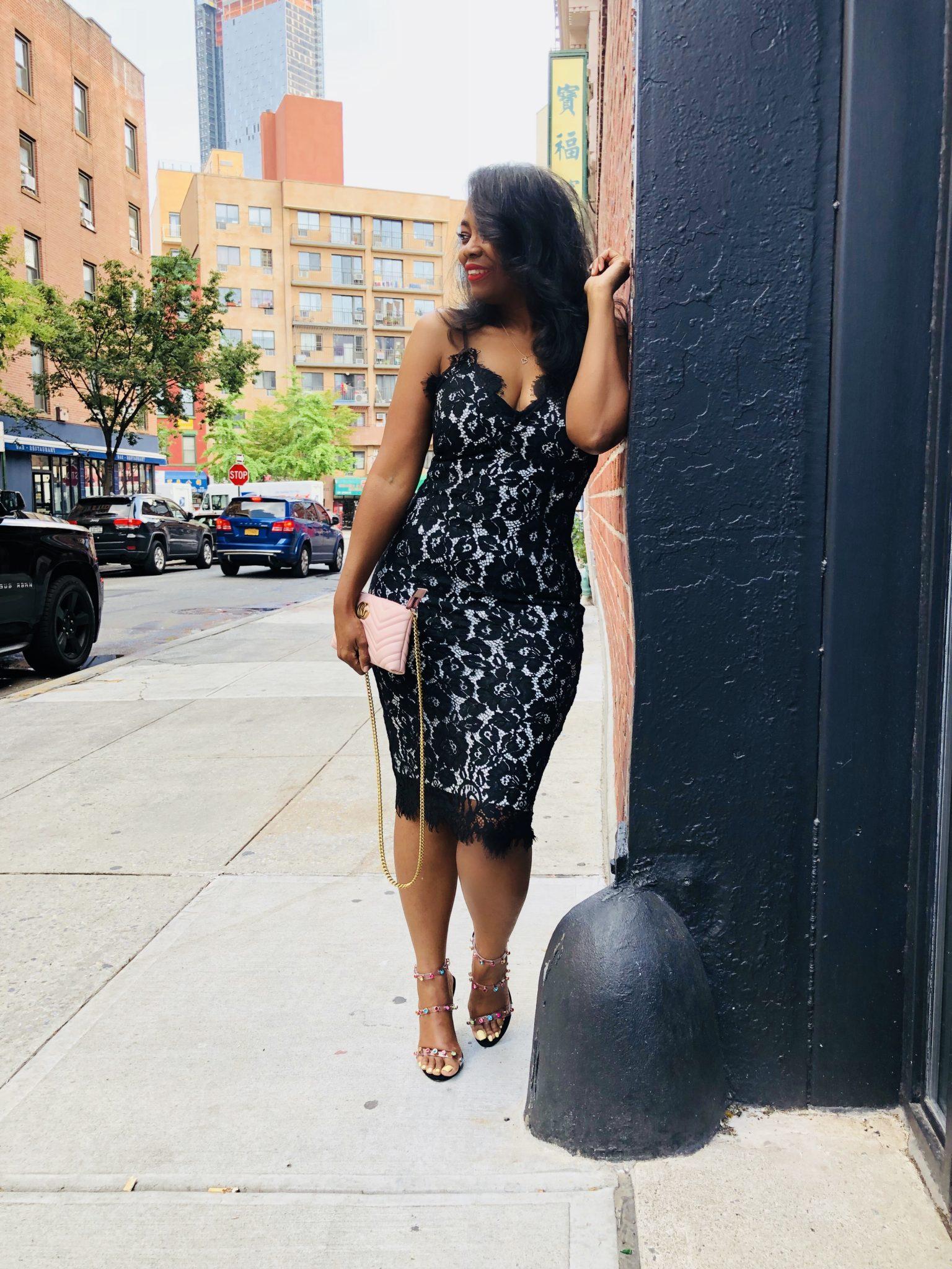 My Style: Plush Boutique Lace Dress