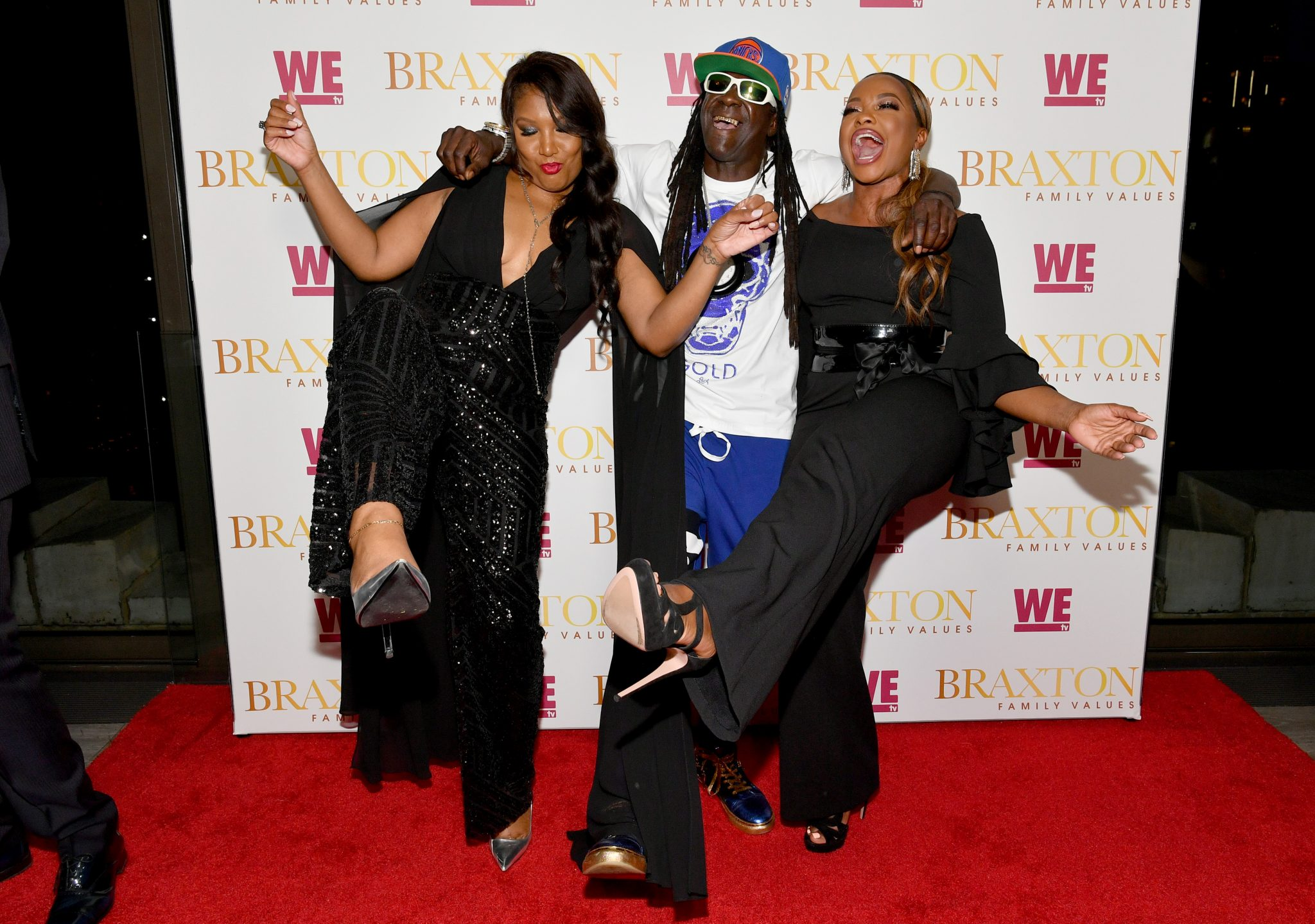 """Traci Braxton, Flavor Flav, Real Housewives, Ice-T & Coco And More Celebrate WE tv's """"Braxton Family Values"""" Season 6 Return in NYC"""