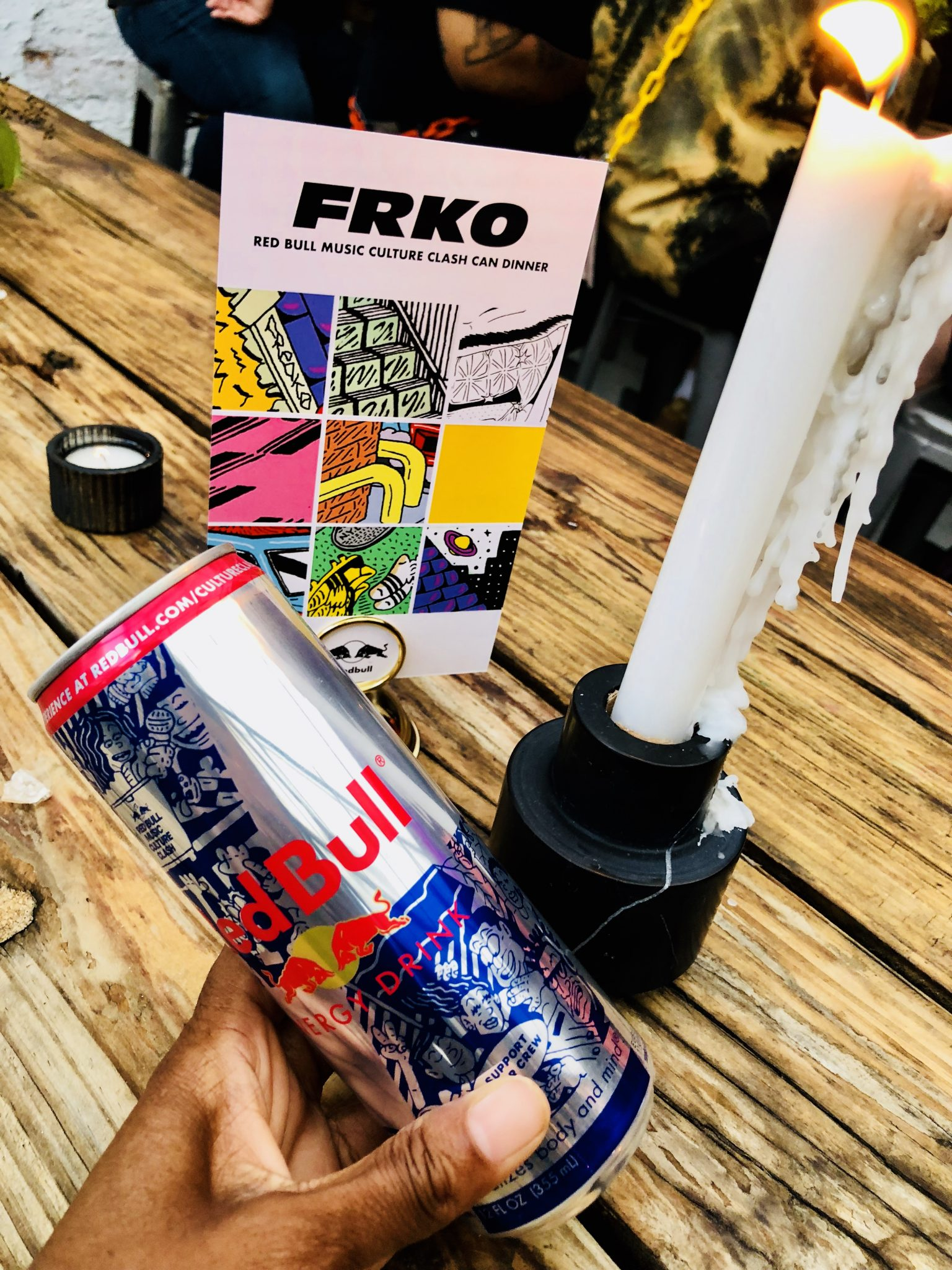 Red Bull Music Culture Clash Private Dinner Hosted By Local Artist FRKO