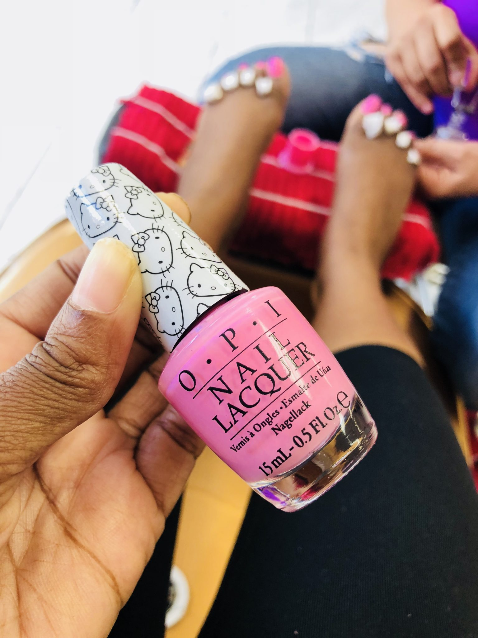 Get The Look: OPI Hello Kitty Collection