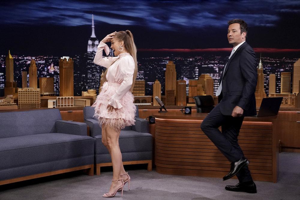 Wardrobe Breakdown: J. Lo On Jimmy Fallon