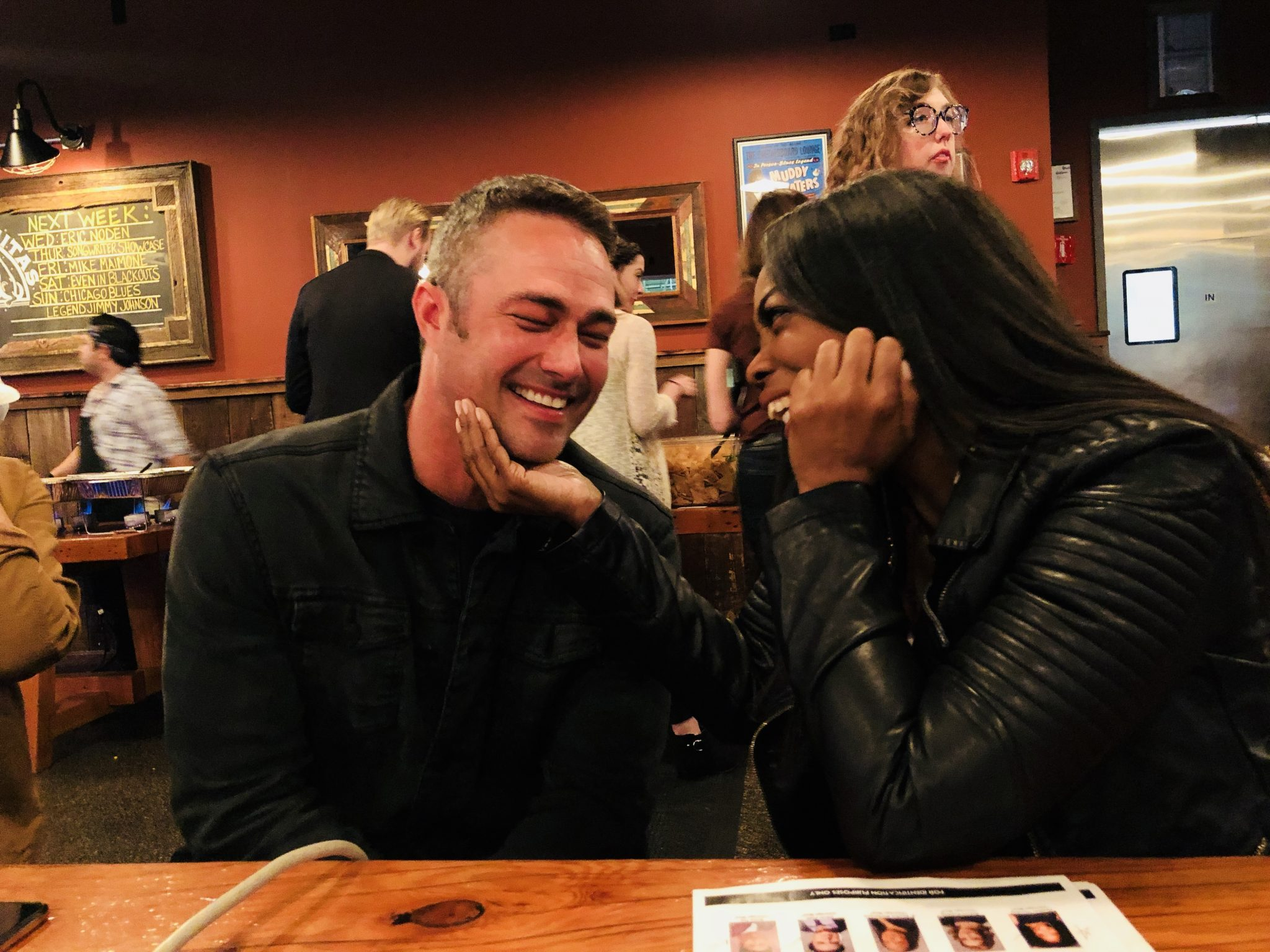 Round Table Discussion With Actor Taylor Kinney From NBC's Chicago Fire