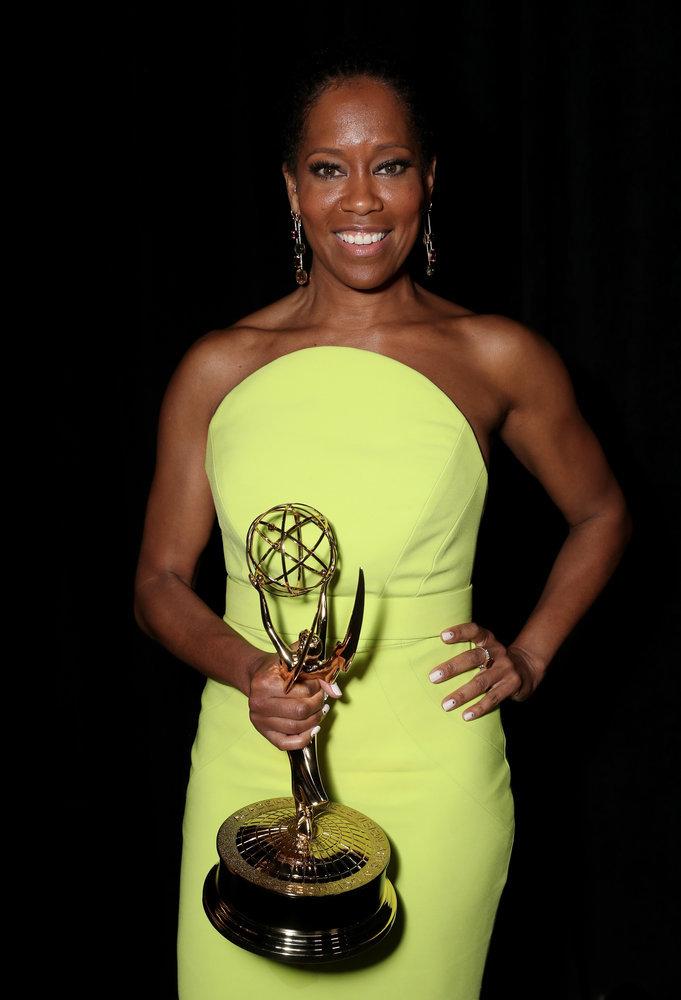 Wardrobe Breakdown: Regina King At Emmys