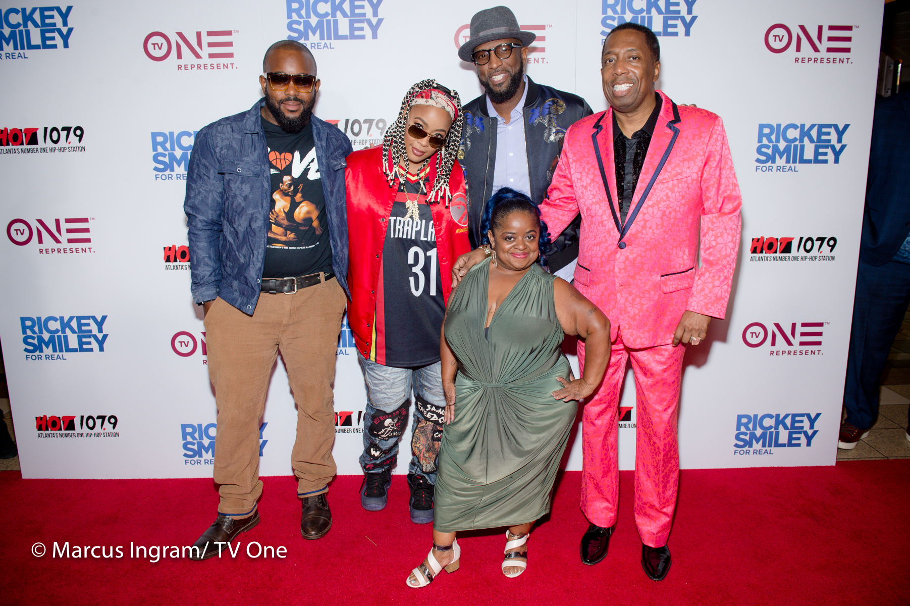 """VIP's Gather For Atlanta Premiere Of Season 5 Of Tv One TV One's """"Rickey Smiley For Real"""