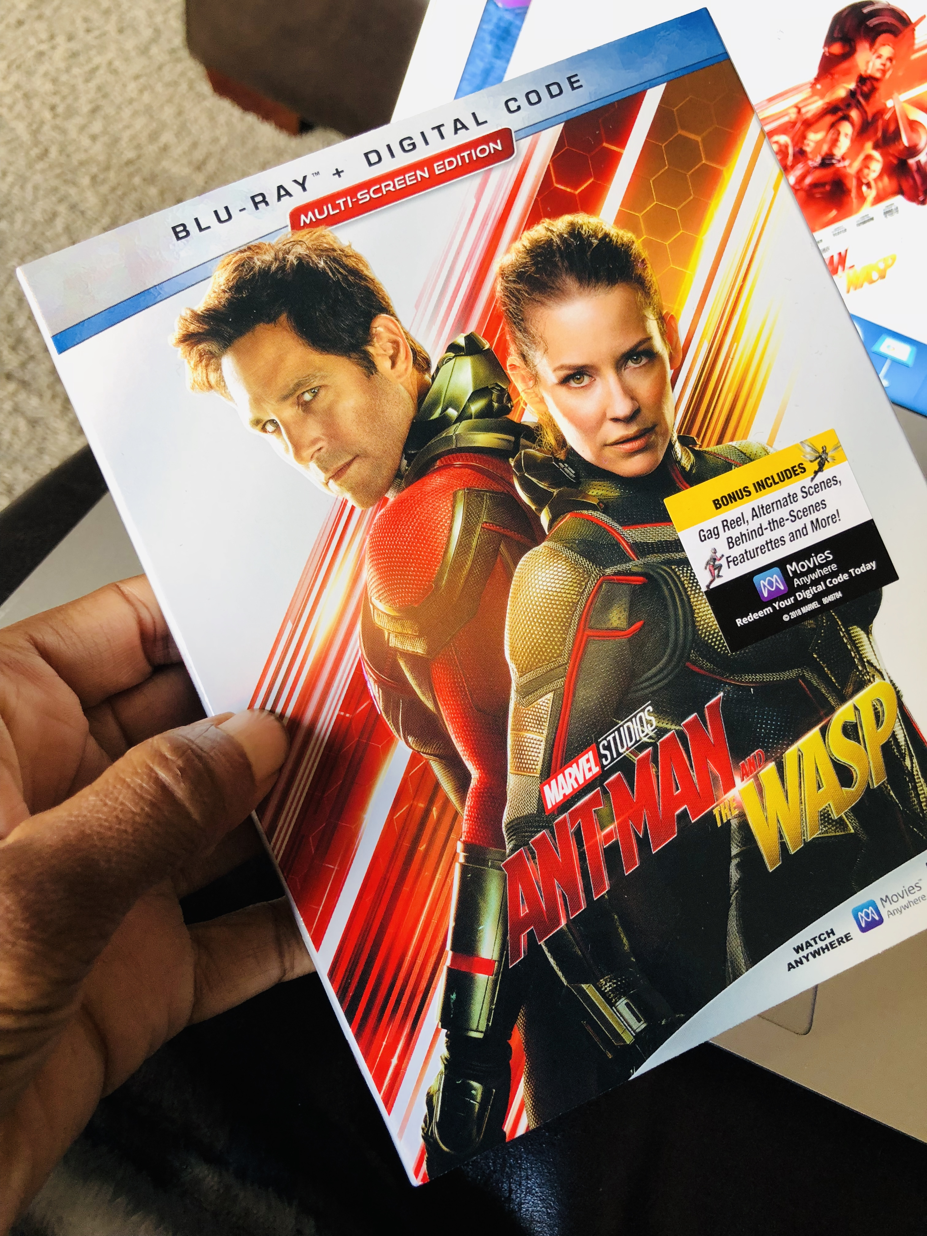 Ant-Man And The Wasp Out On Blu-ray
