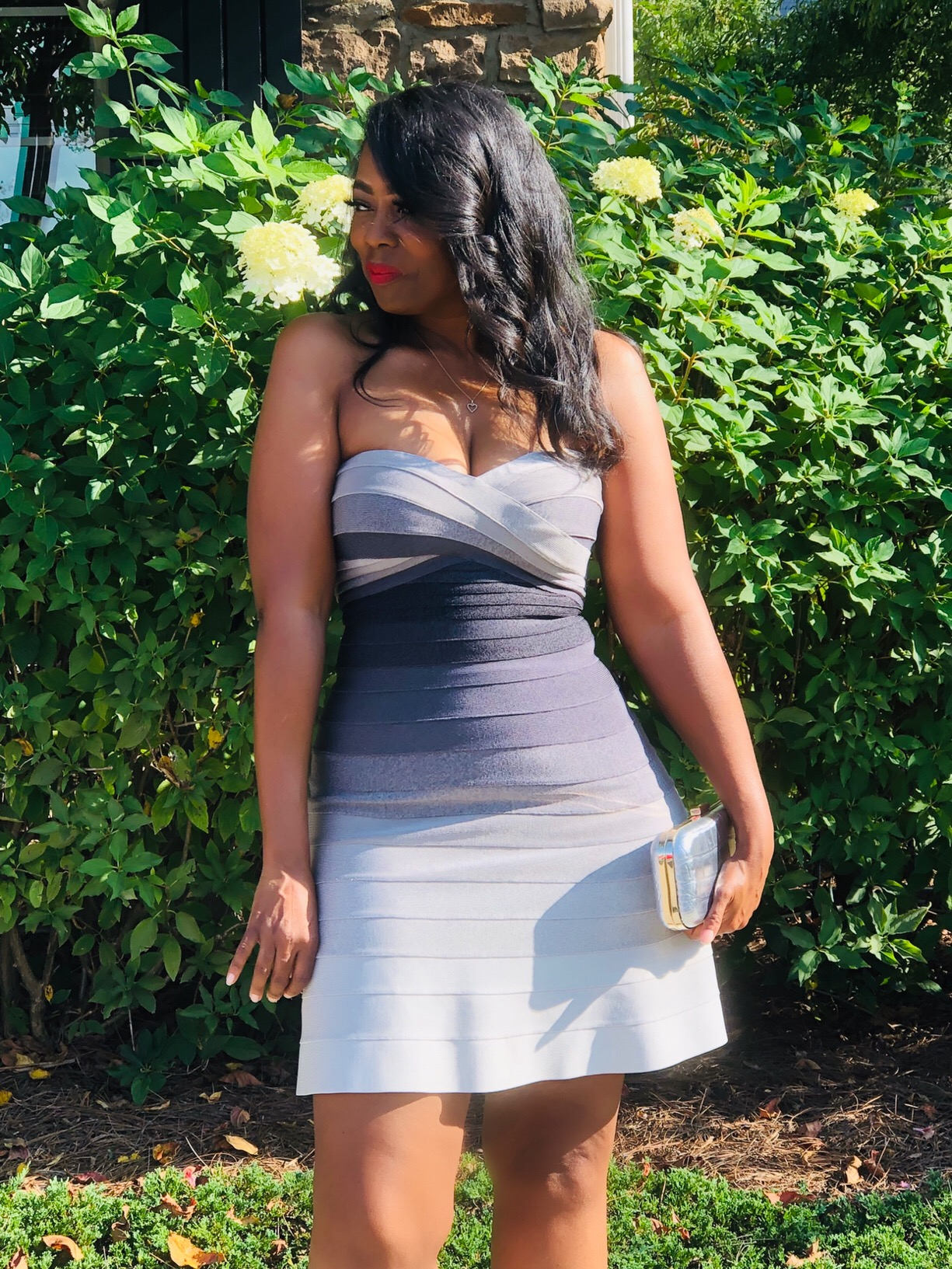 My Style: Herve Leger Shea Ombre Dress