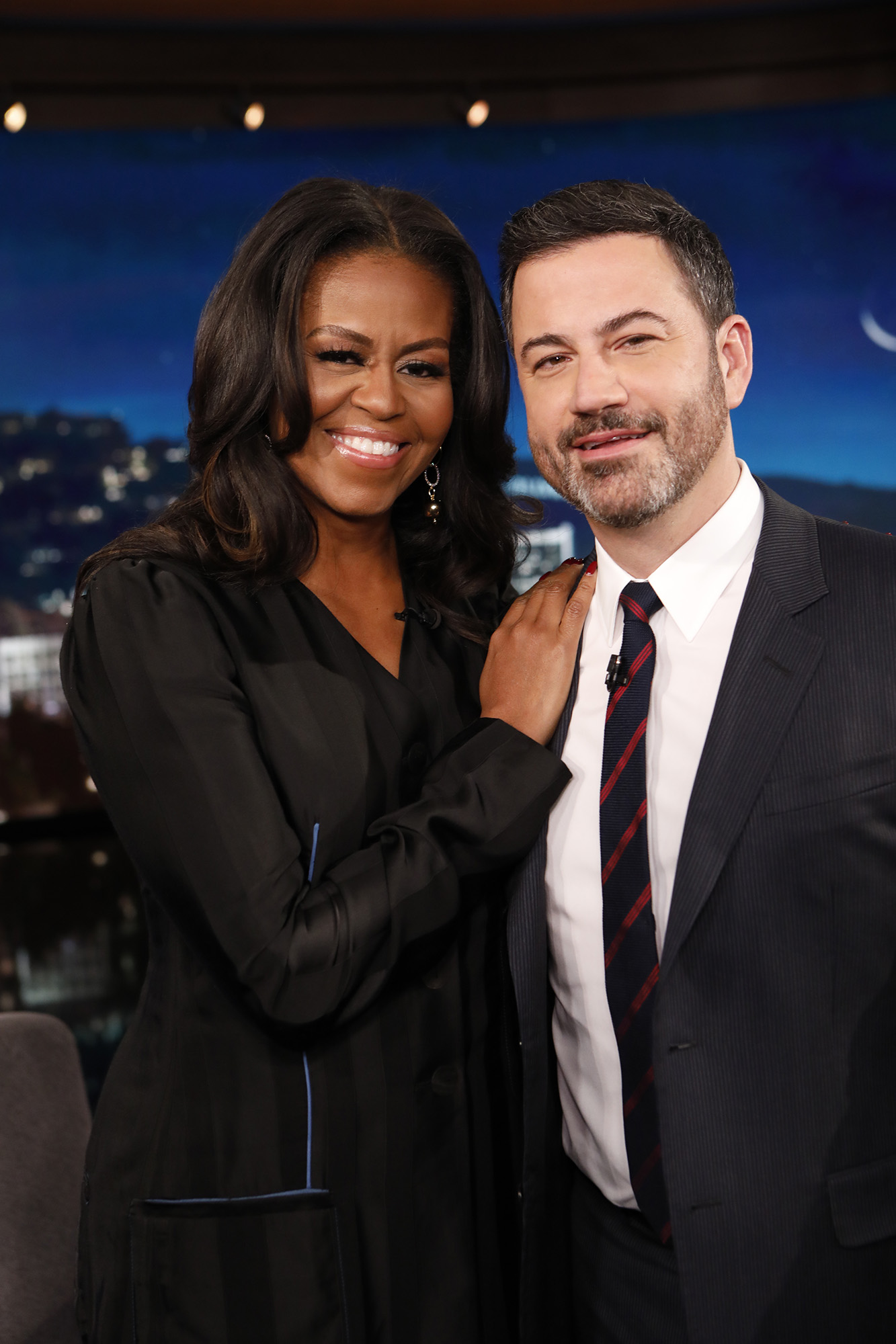 In Case You Missed It: Michelle Obama On Jimmy Kimmel Live