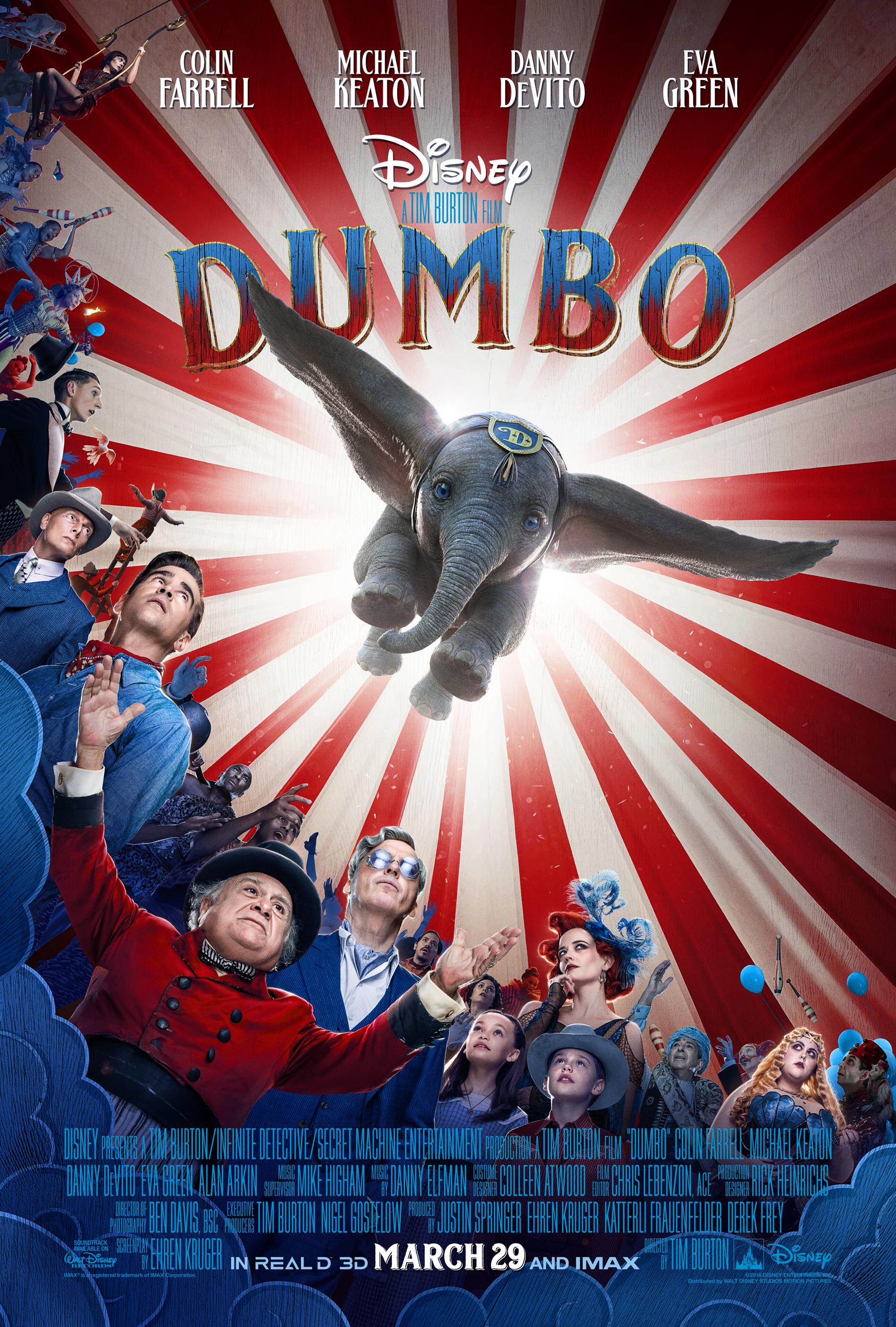 New Movie: DUMBO New Trailer & Poster