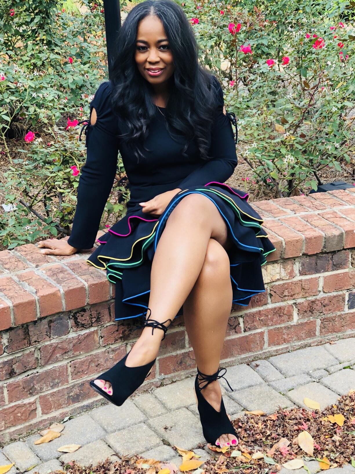 My Style: Viva Aviva Adora Ruffle Dress