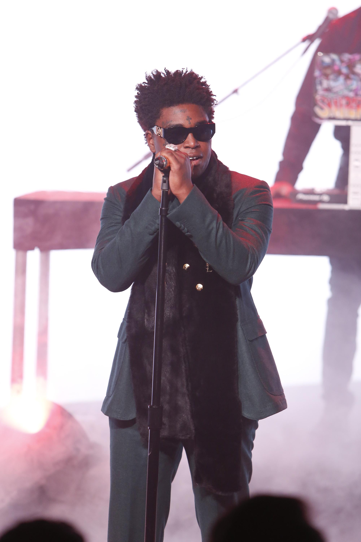 Rapper Kodak Black Performs Testimony On Jimmy Kimmel Live