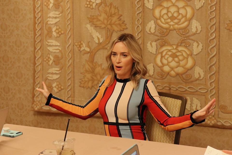 One On One With Emily Blunt From Mary Poppins Returns