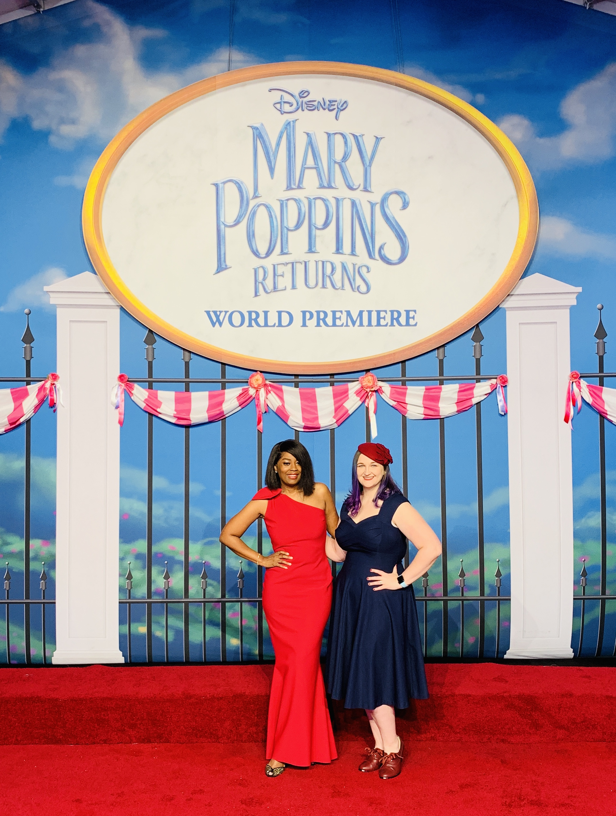 My Red Carpet Experience At Disney Mary Poppins Returns World Premiere In Hollywood