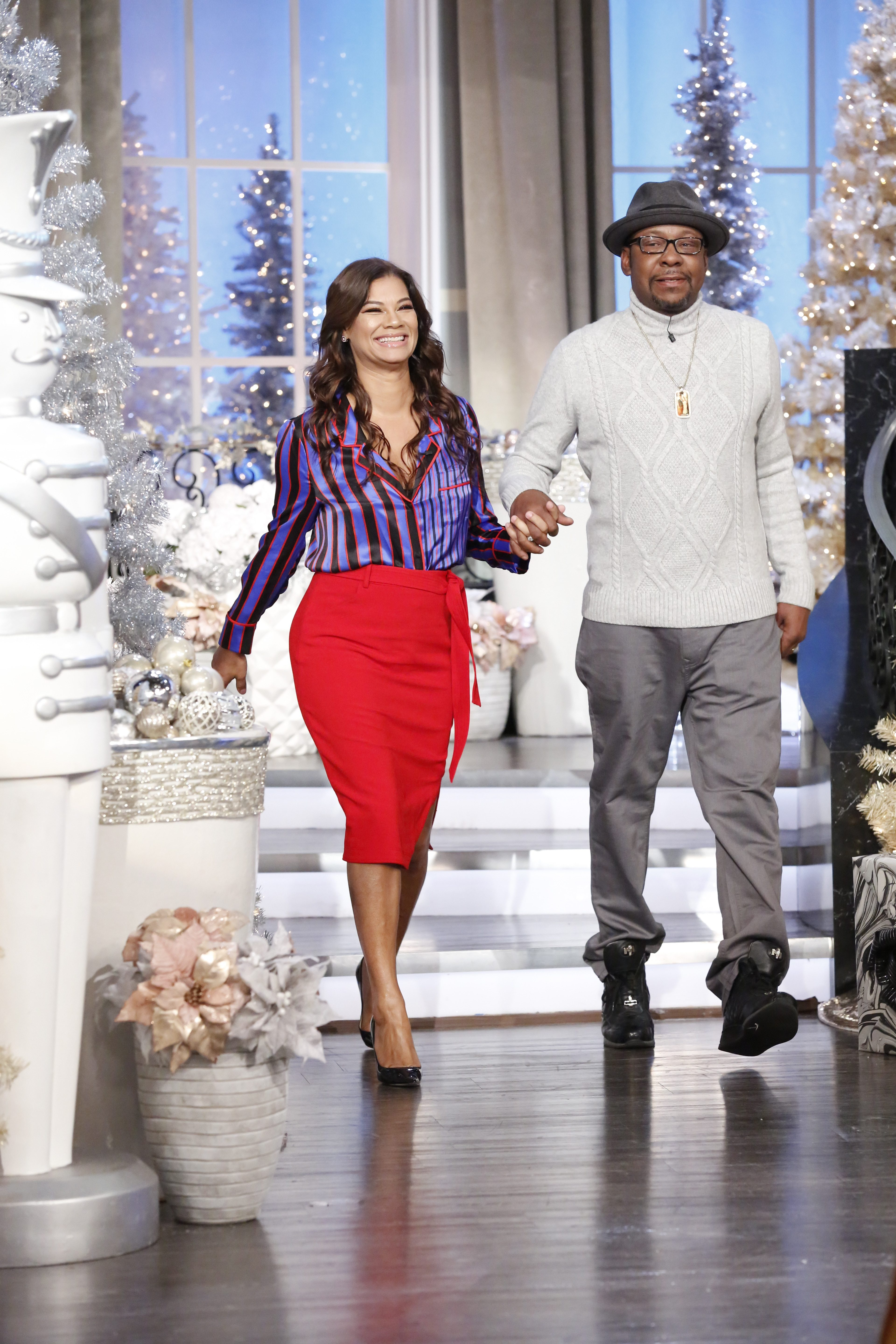 THE REAL's Holiday Episode With Bobby Brown And His Family!