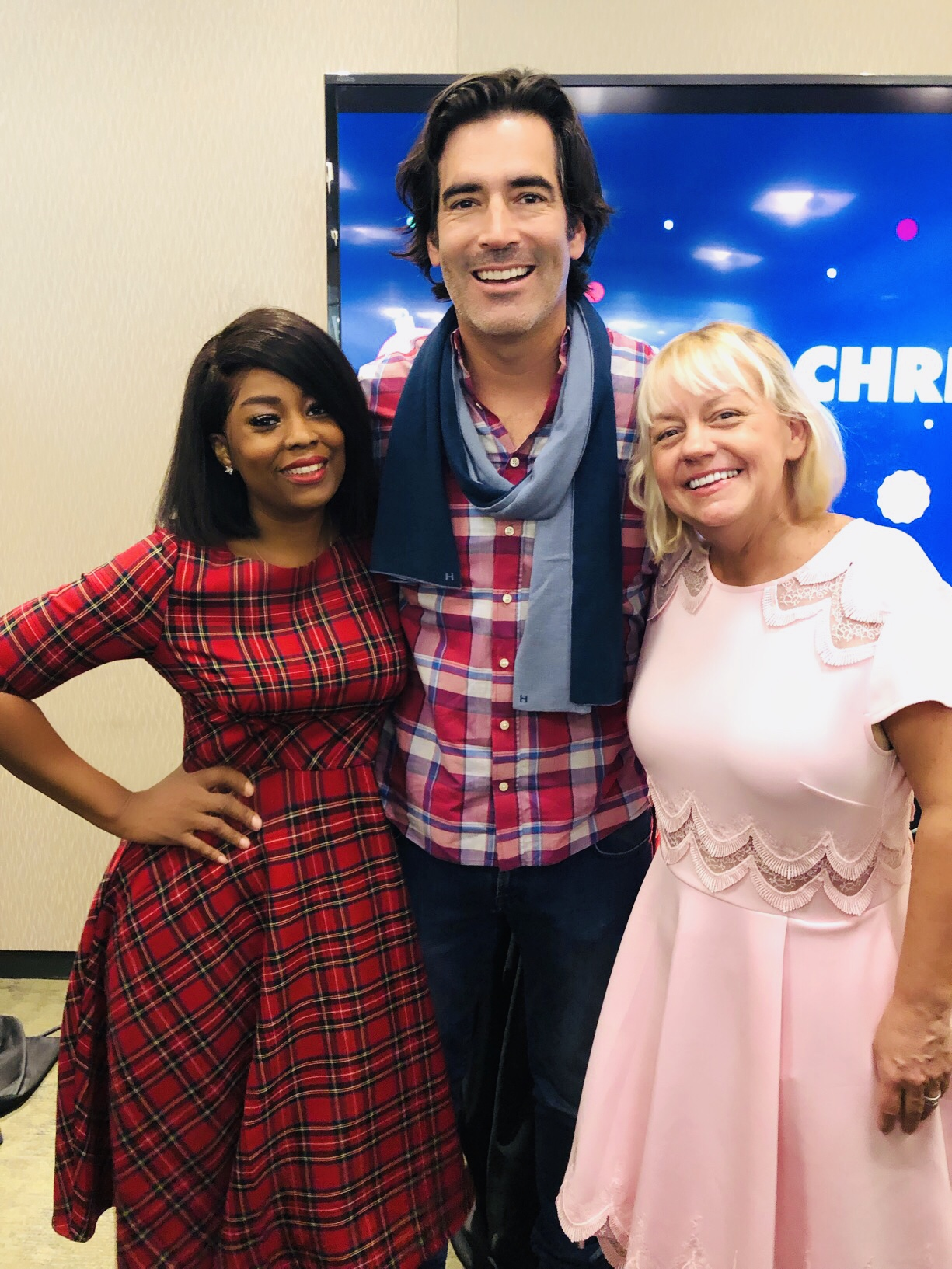 """A Sit Down With Hosts Sherry Yard & Carter Oosterhouse From ABC's 25 DAYS OF CHRISTMAS """"The Great Christmas Light Fight"""" and """"The Great American Baking Show: Holiday Edition"""""""