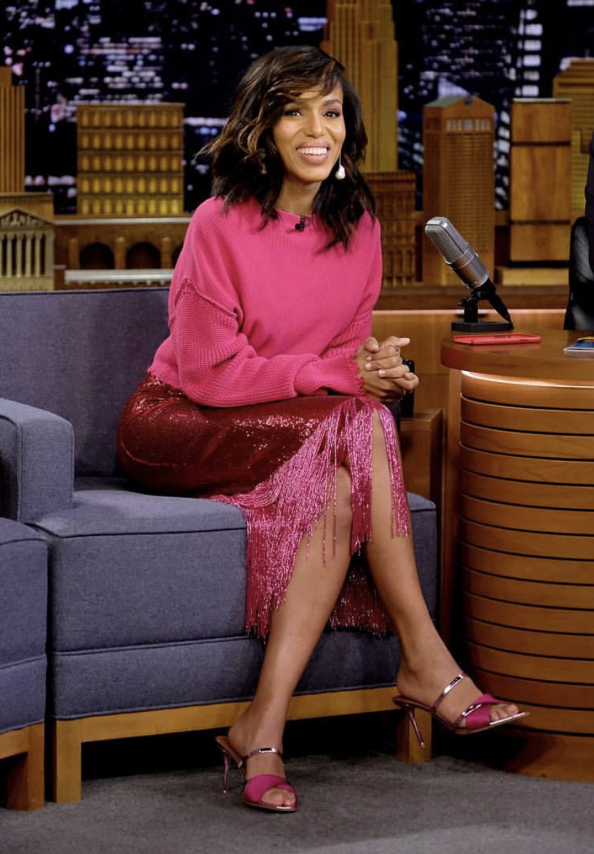 Wardrobe Breakdown: Kerry Washington On Jimmy Fallon