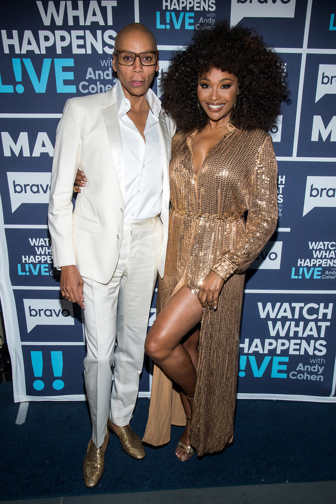 In Case You Missed It: Cynthia Bailey & Rupaul On Watch What Happens Live With Andy Cohen