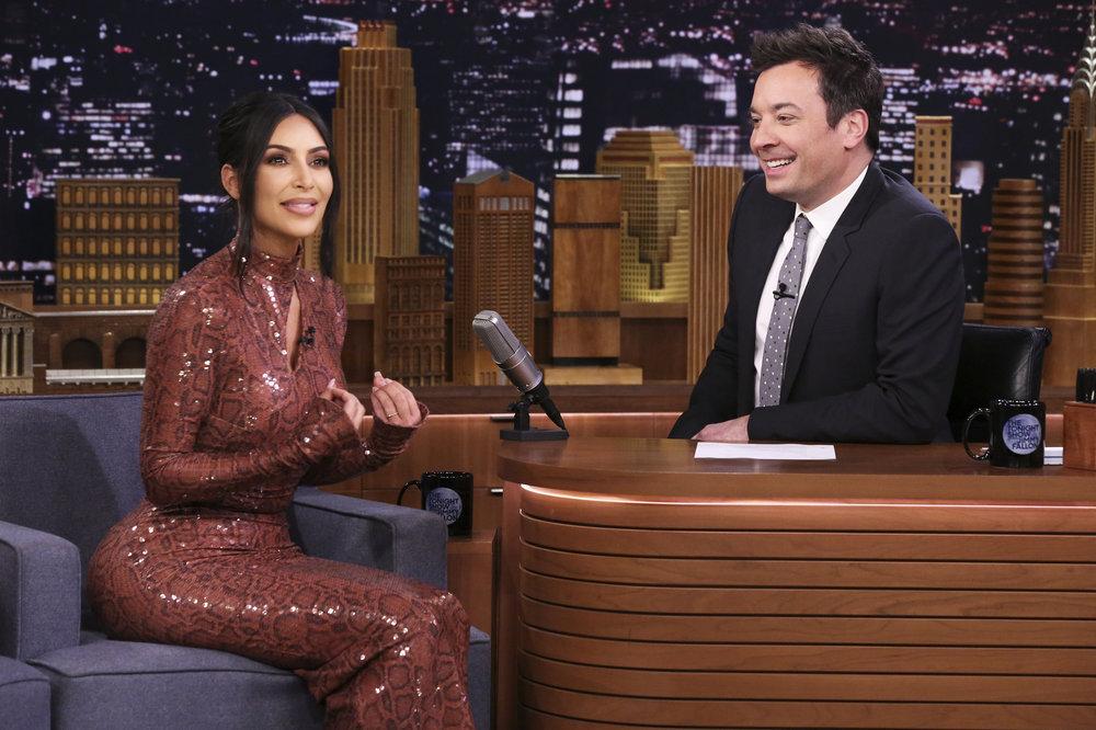 In Case You Missed It: Kim Kardashian On Jimmy Fallon