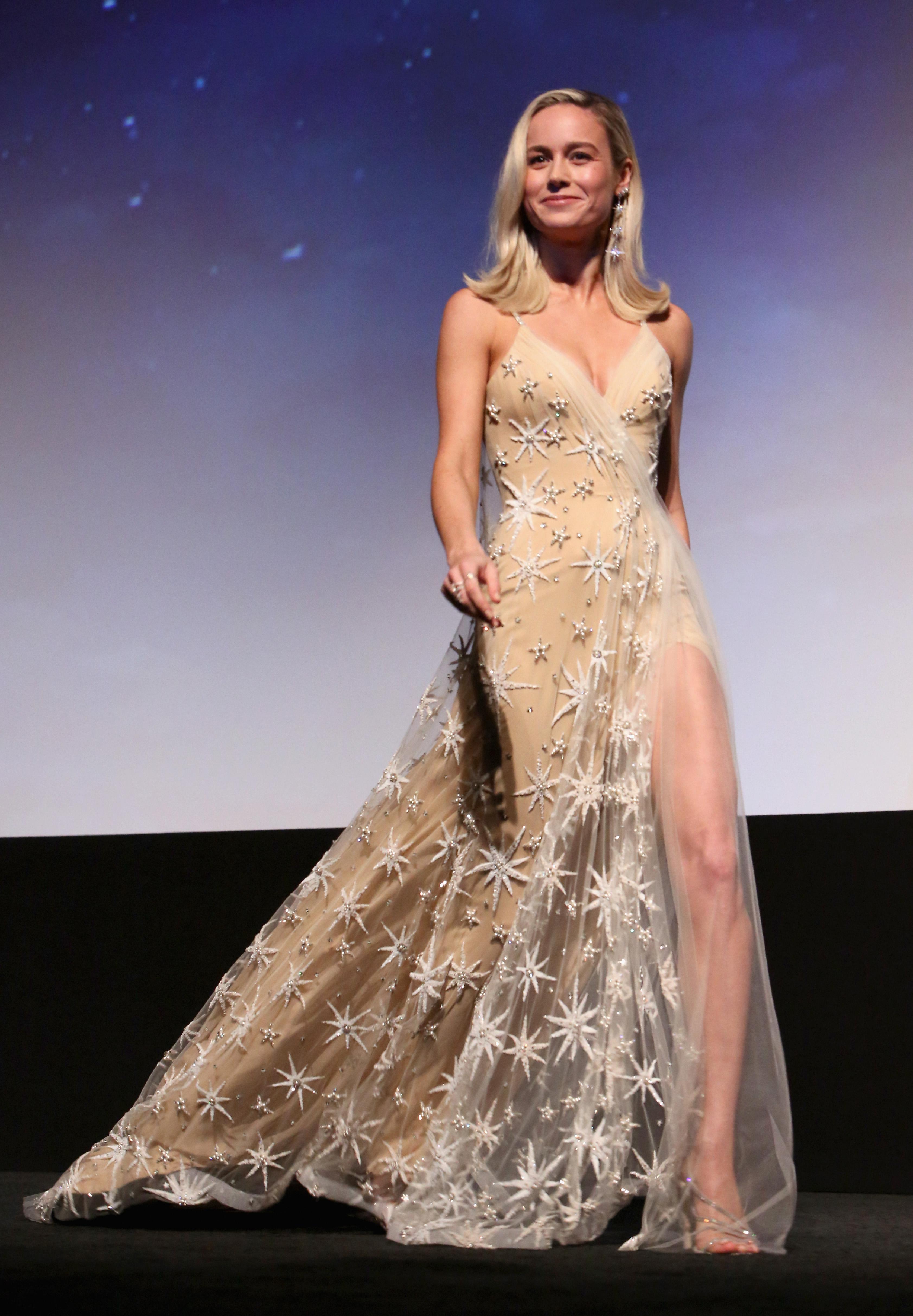 Wardrobe Breakdown: Brie Larson At Captain Marvel World Premiere