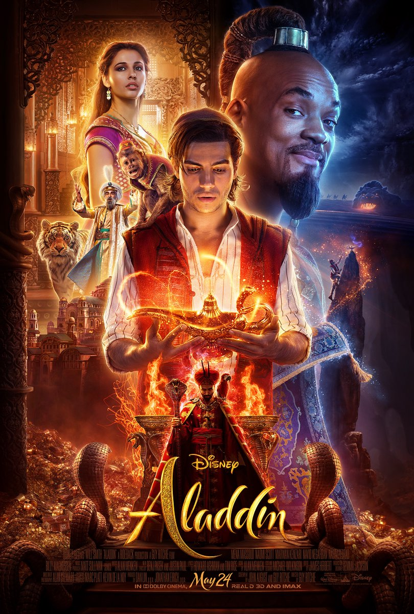 Aladdin: New Trailer And Poster