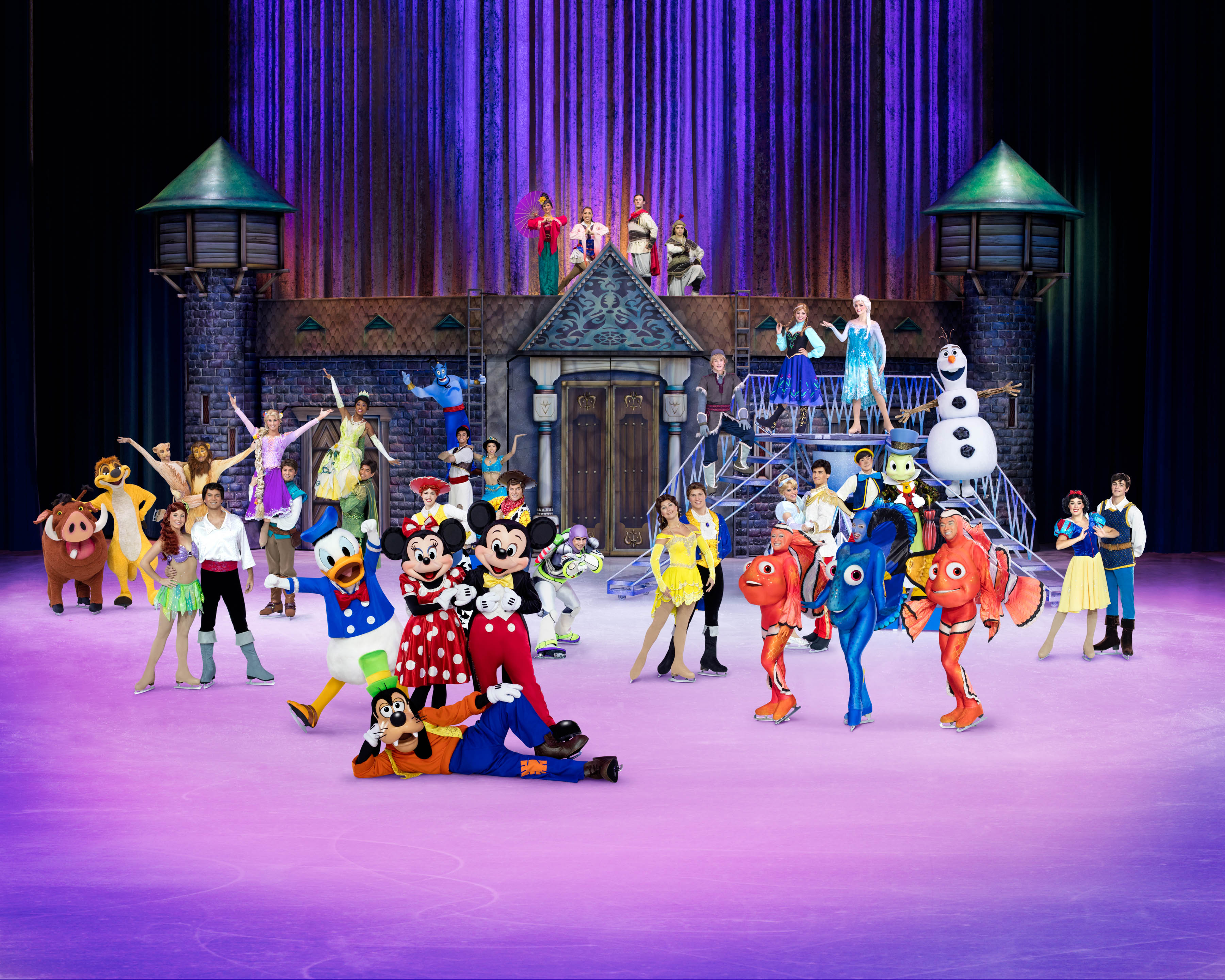 Disney On Ice Celebrates 100 Years Of Magic Plus A Giveaway!