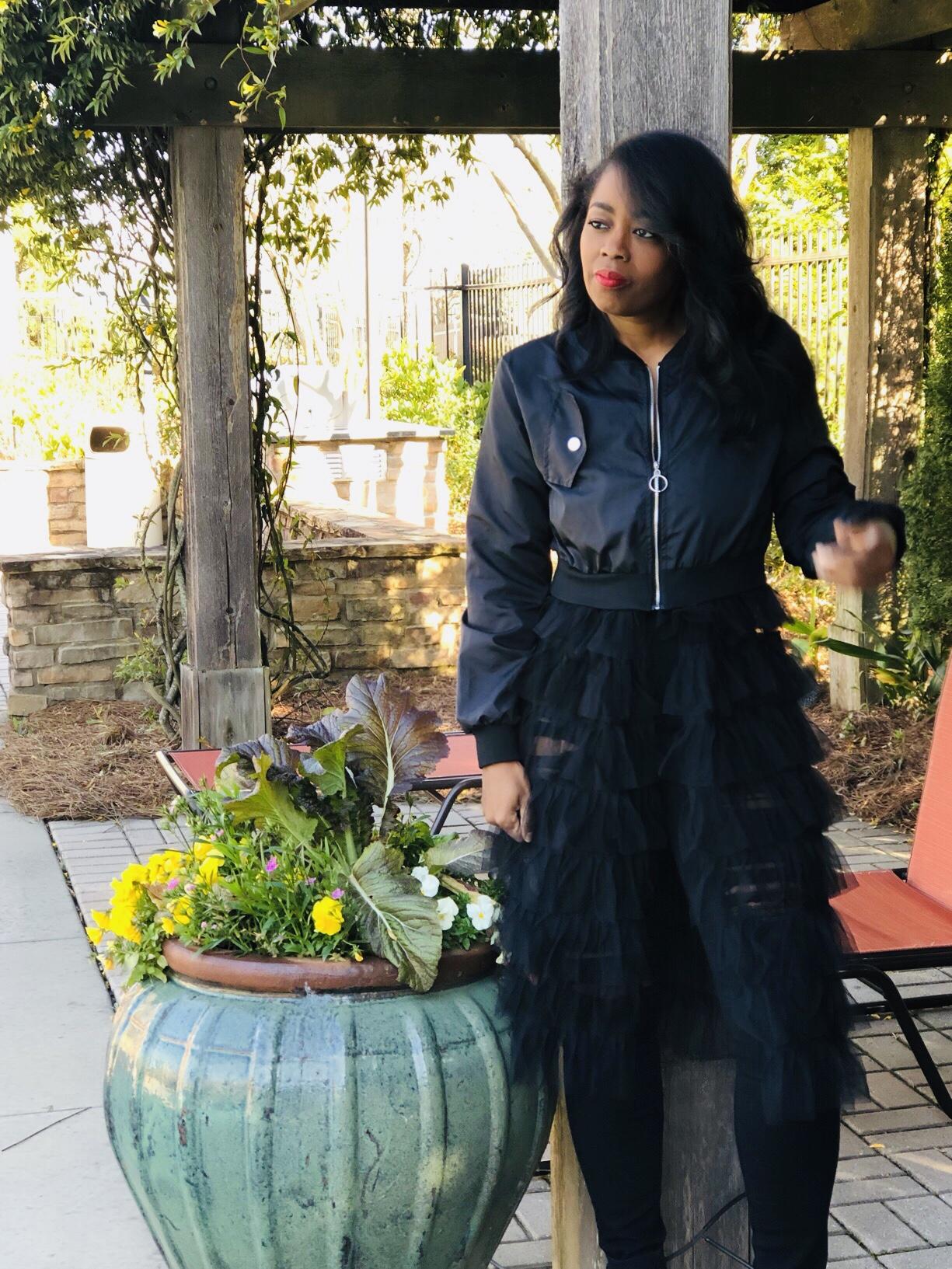 My Style: TK Reflections KoKo Bomber Jacket