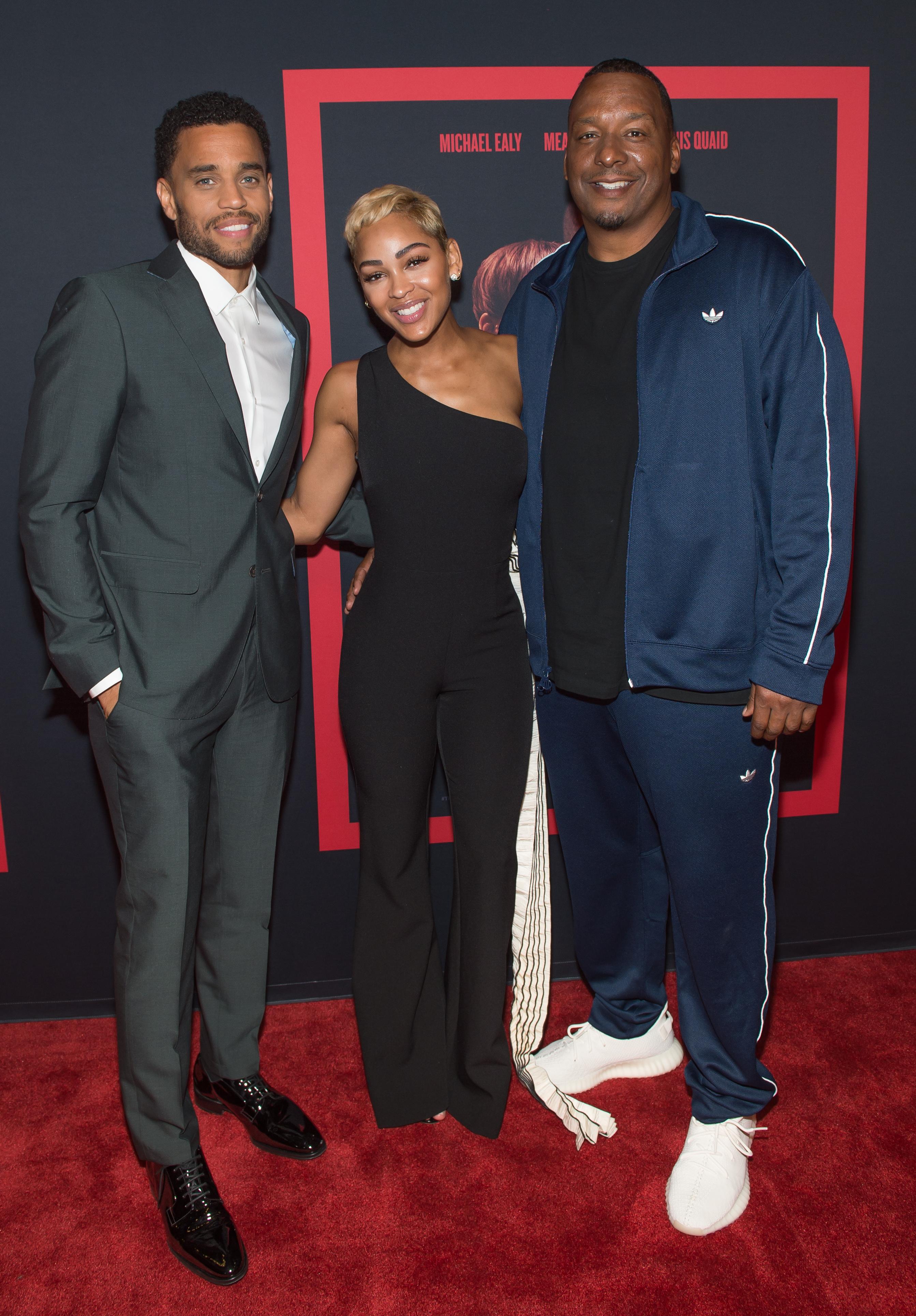 THE INTRUDER Invades Atlanta With Actors Michael Ealy, Meagan Good & Deon Taylor