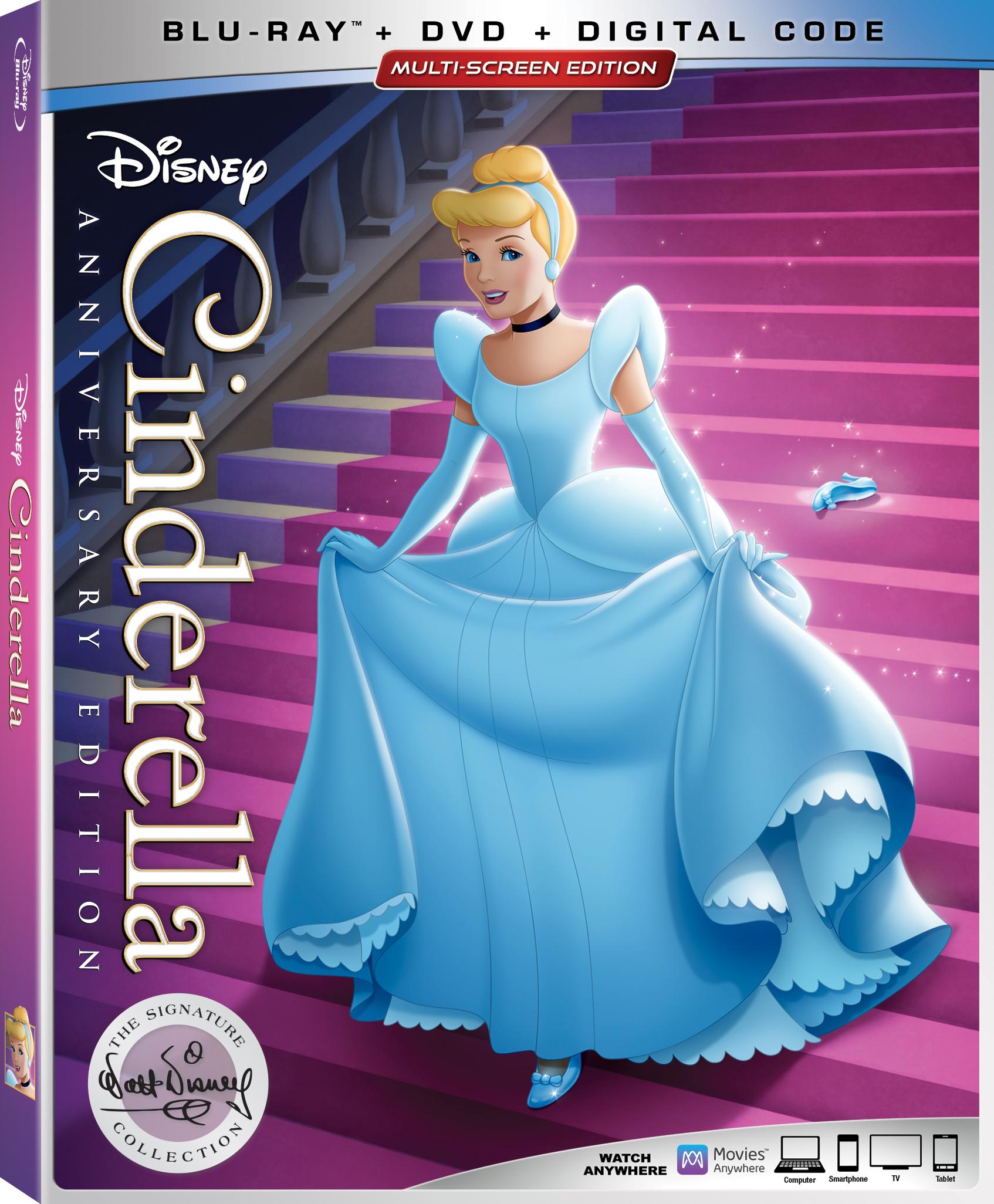 Cinderella Walt Disney Signature Collection Arrives On Digital June 18 And Blu-ray June 25