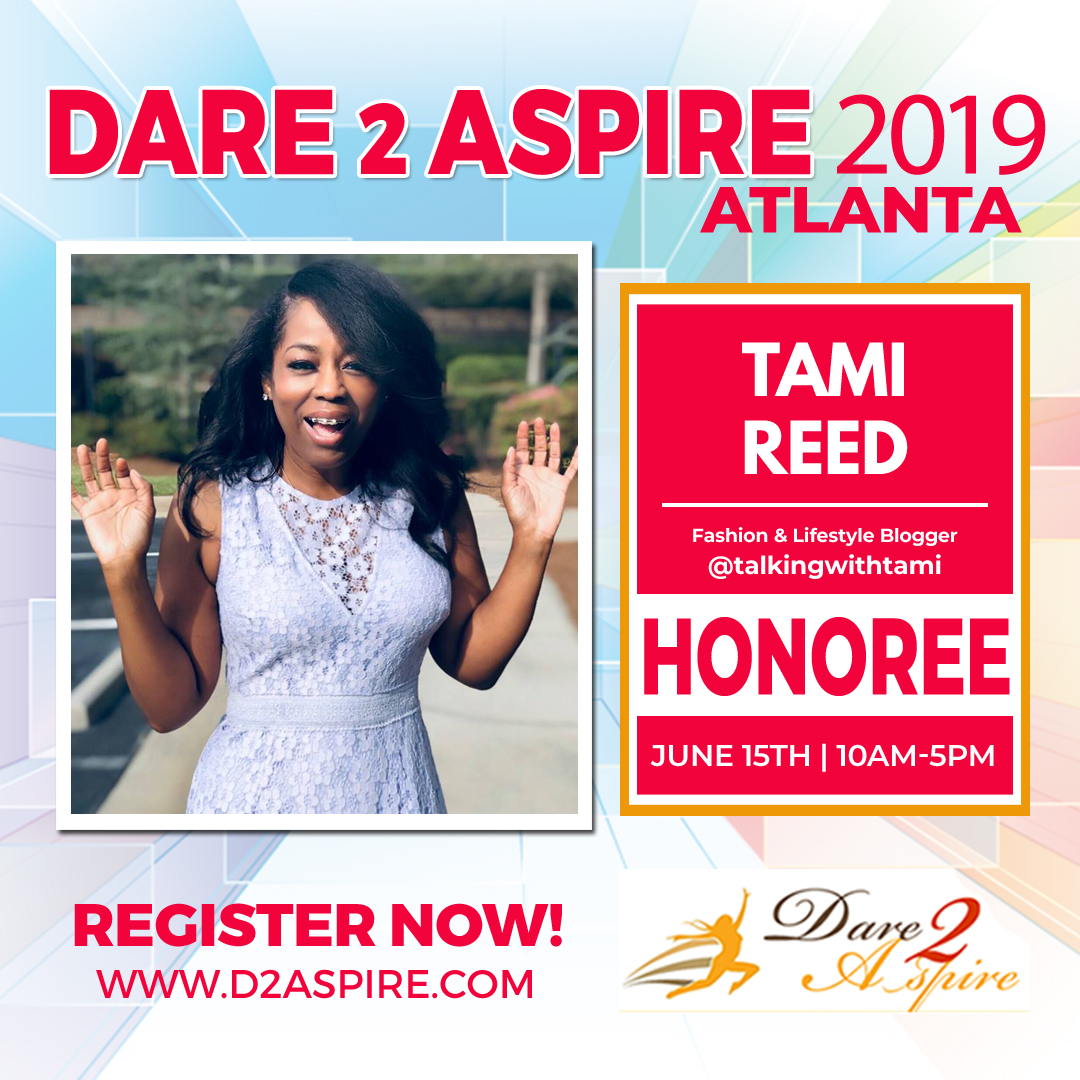 Talking With Tami Being 'Honored' At Dare 2 Aspire 2019 Conference