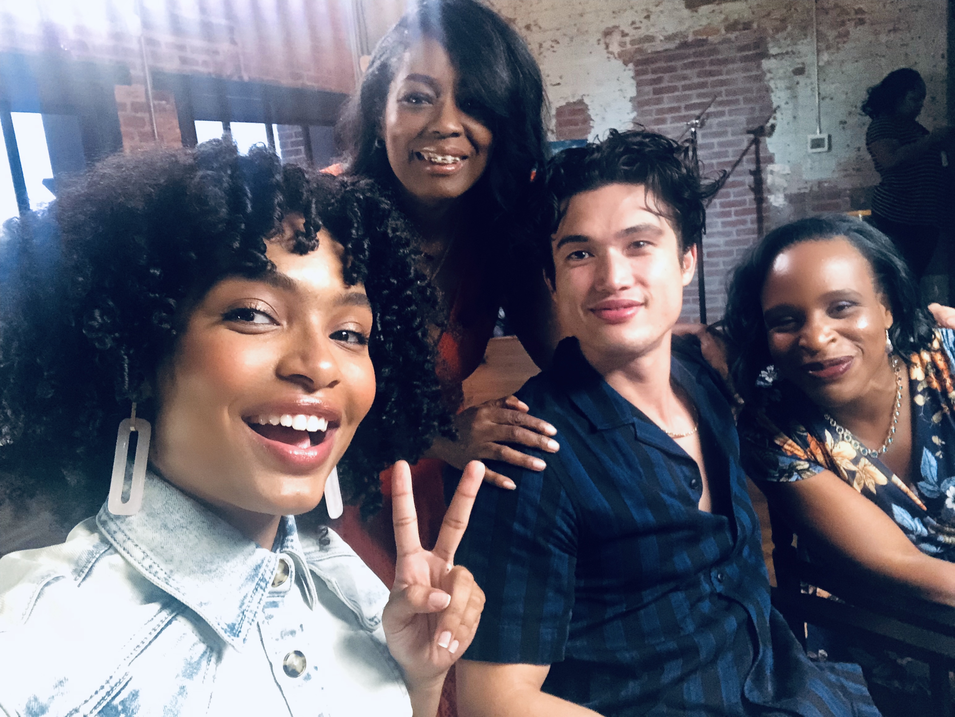 One On One With Actors Yari Shahidi & Charles Melton Plus Author Nicola Yoon From The Sun Is Also A Star