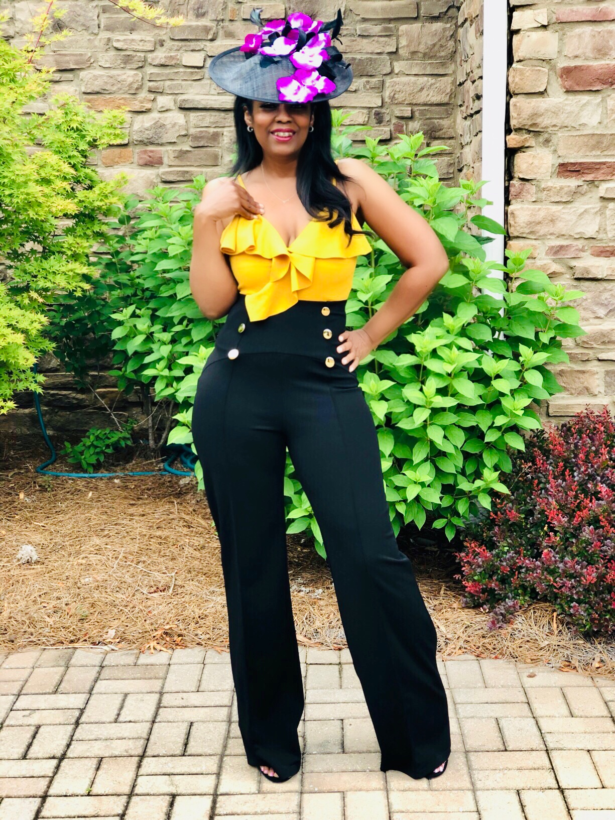 My Style: Mother's Day Look, Ennyluap Ruffle Bodysuit
