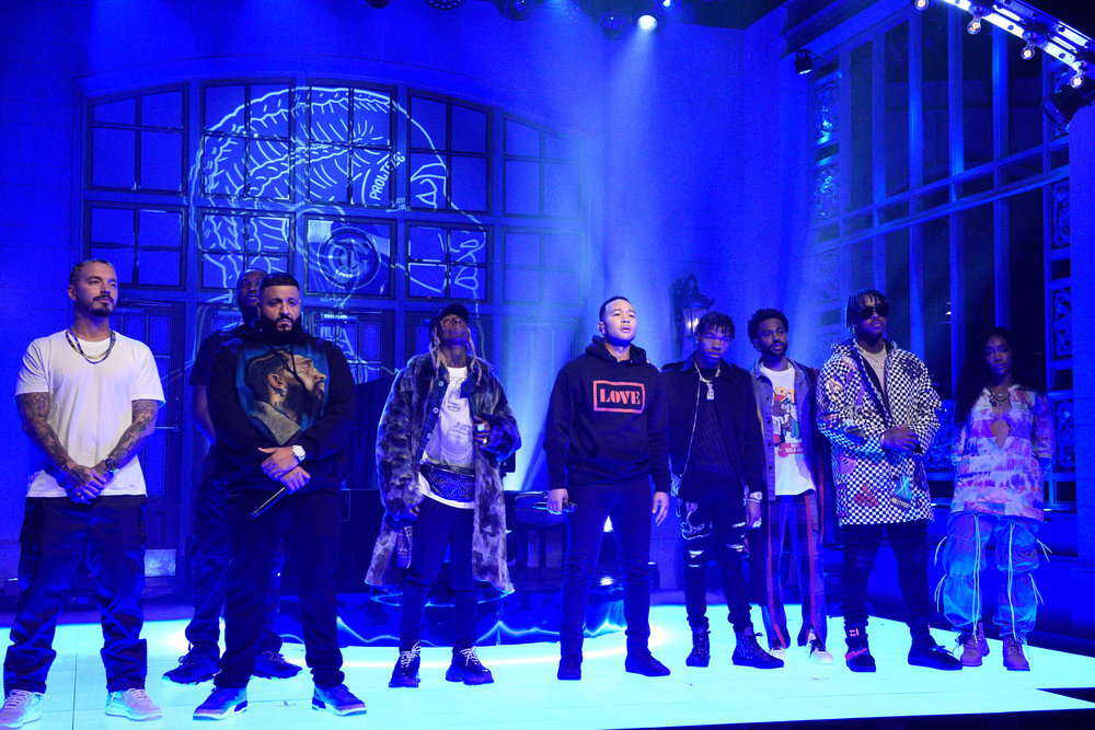 In Case You Missed It: DJ Khalid Brings Out EVERYONE On Saturday Night Live