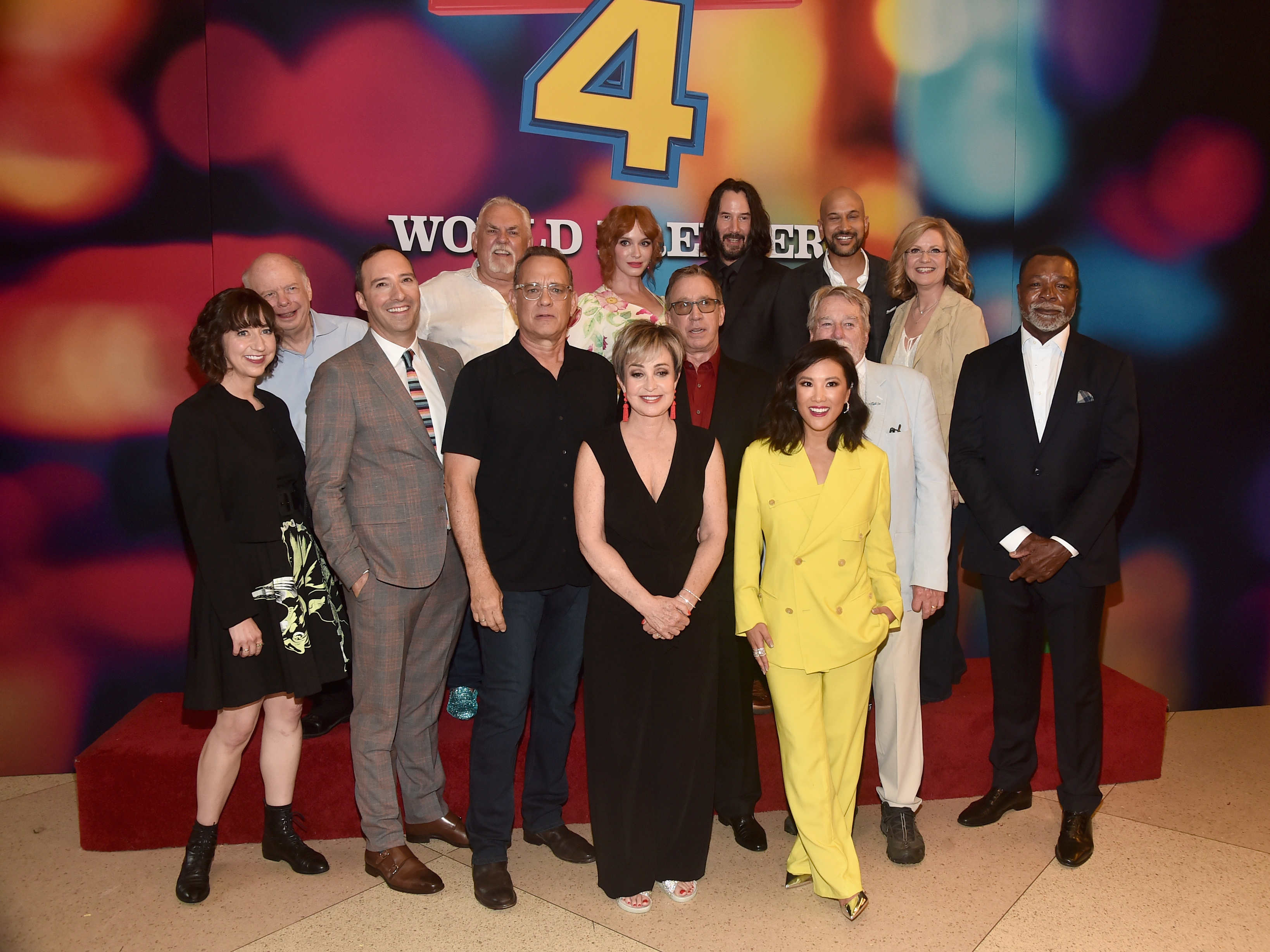 Stars Of Disney And Pixar's Toy Story 4 Celebrate  The World Premiere At Hollywood's El Capitan Theater
