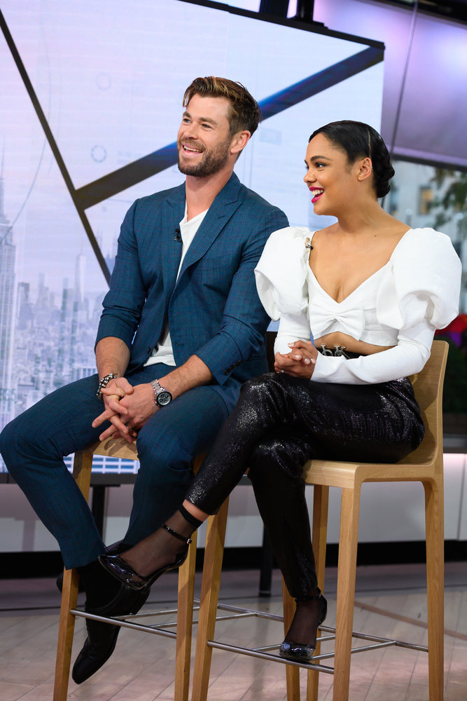 In Case You Missed It: Chris Hemsworth And Tessa Thompson On The Today Show