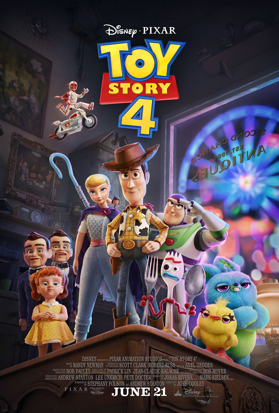 New Characters Featured In TOY STORY 4
