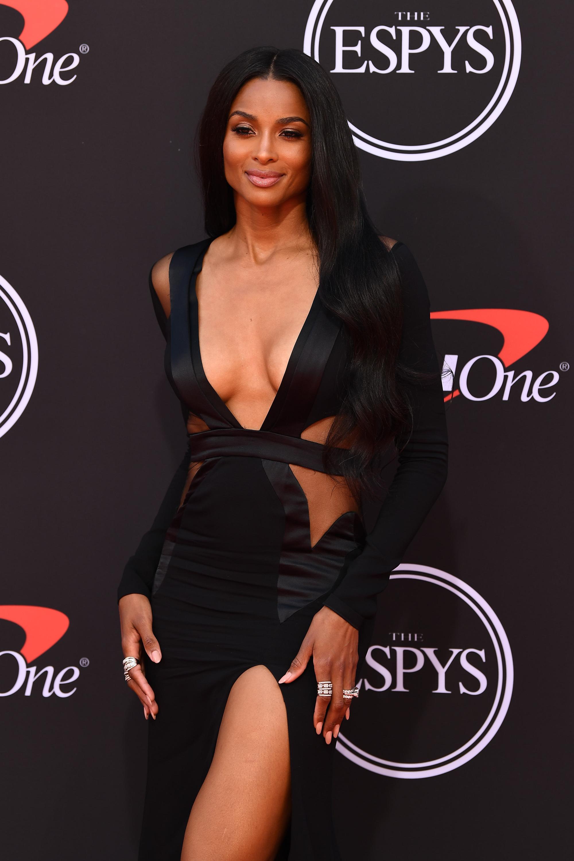 Wardrobe Breakdown: Ciara At The Espy's Awards