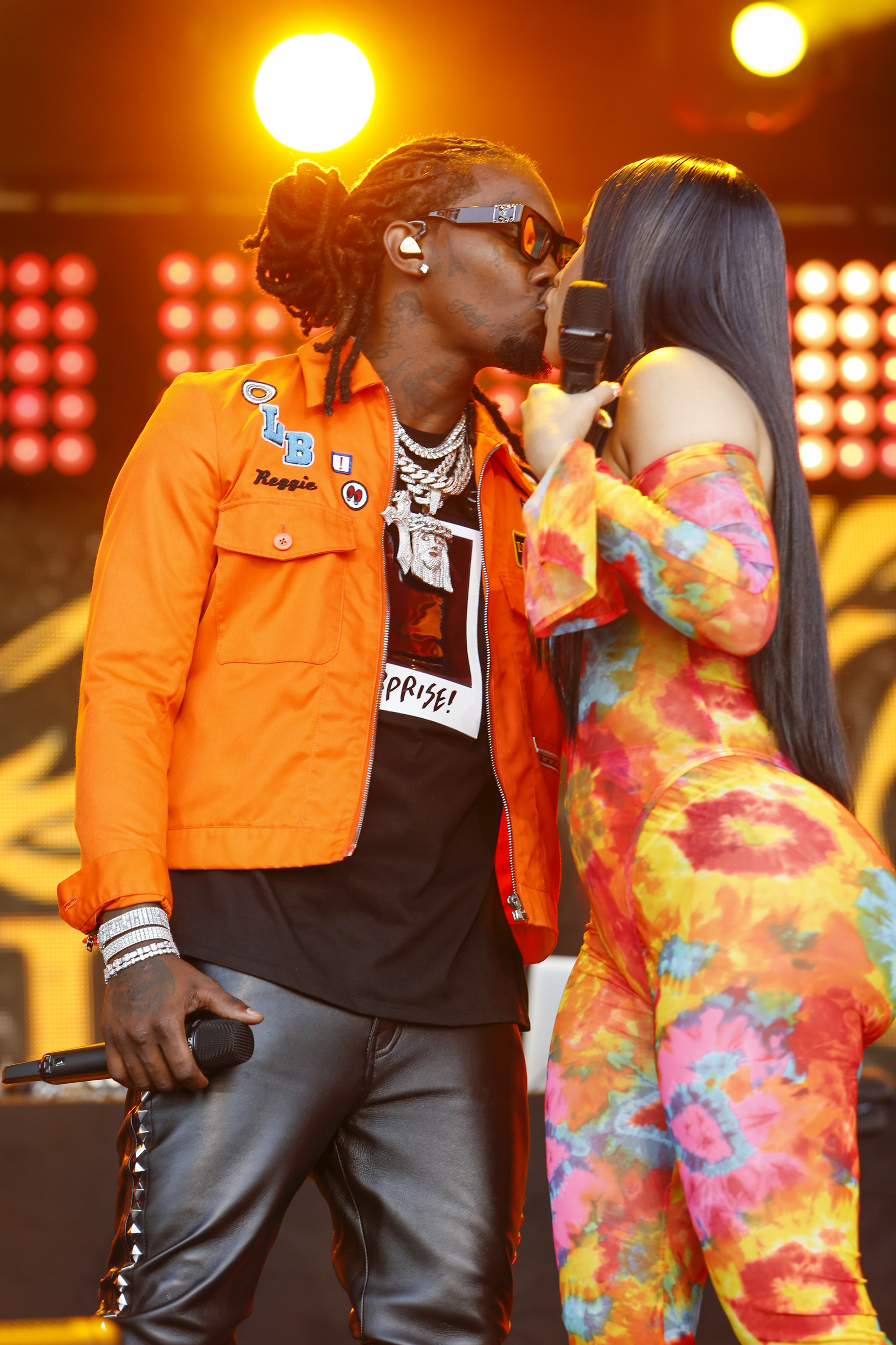 In Case You Missed It: Rappers Cardi B & Offset On Jimmy Kimmel Live
