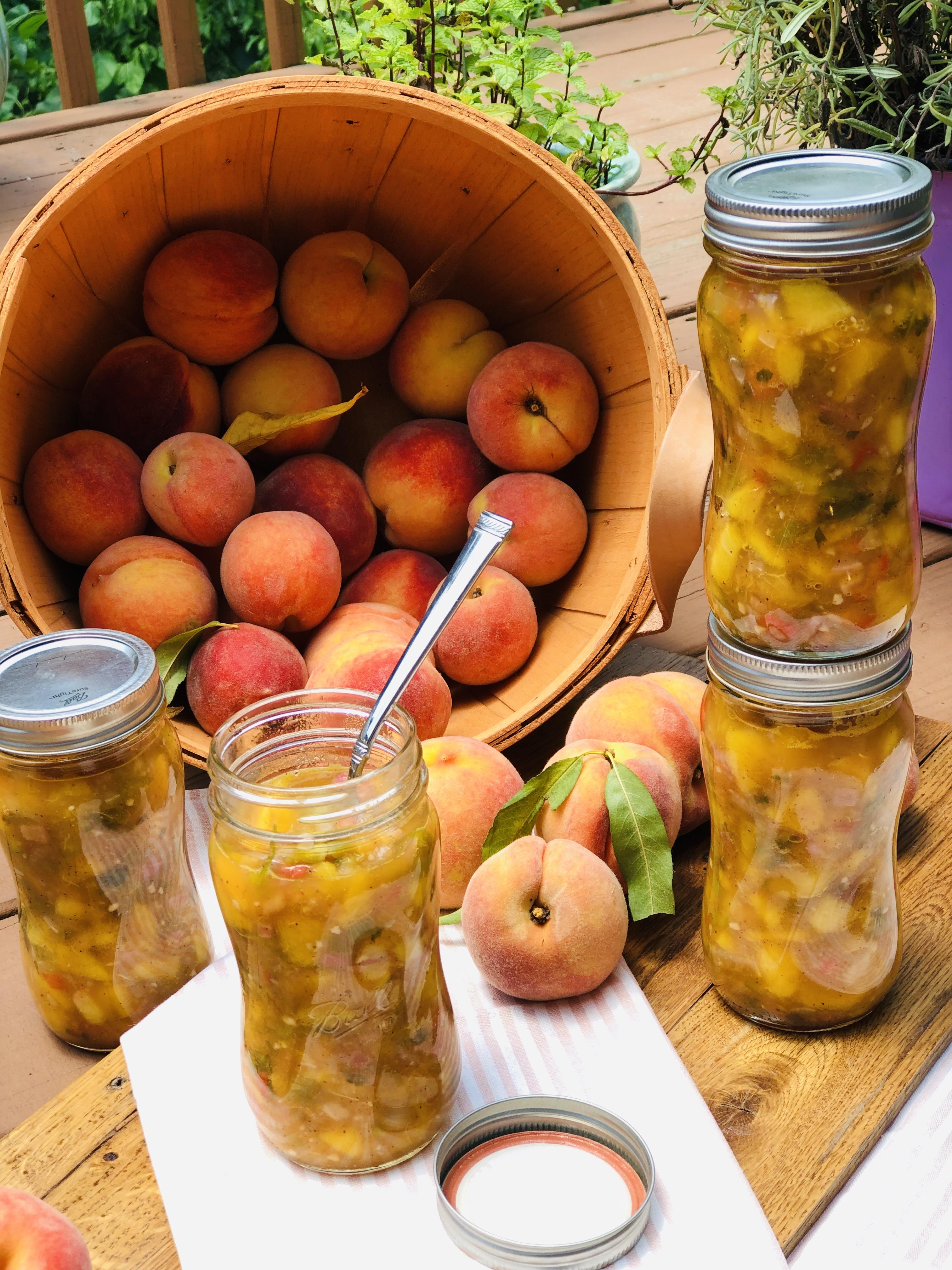 Girls Luncheon With Sweet Georgia Peaches & A Recipe!