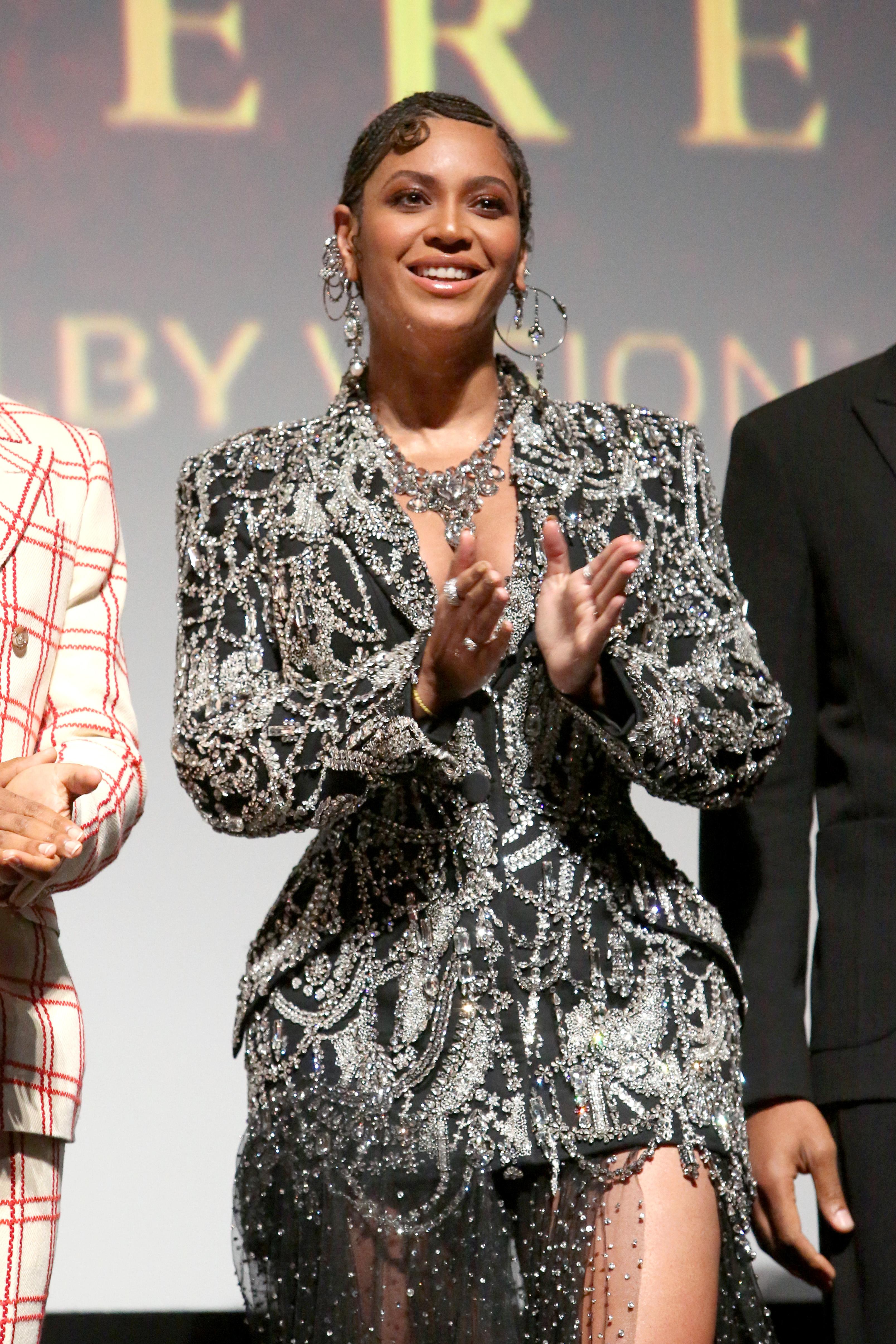 Wardrobe Breakdown: Beyonce At Lion King World Premiere