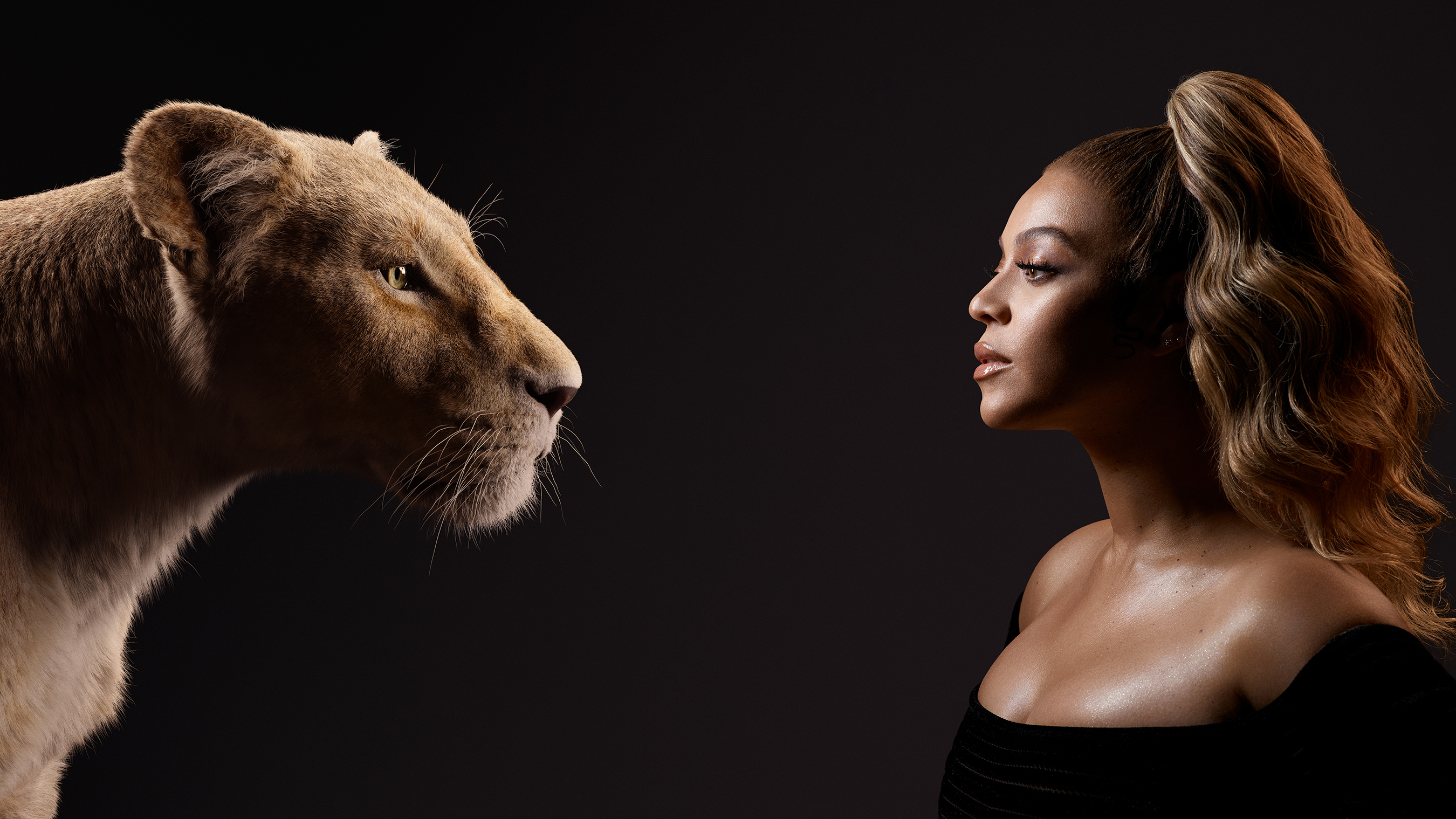 """DISNEY'S """"THE LION KING"""" – Check Out Stunning New Images Of Film's Cast With Their Characters"""