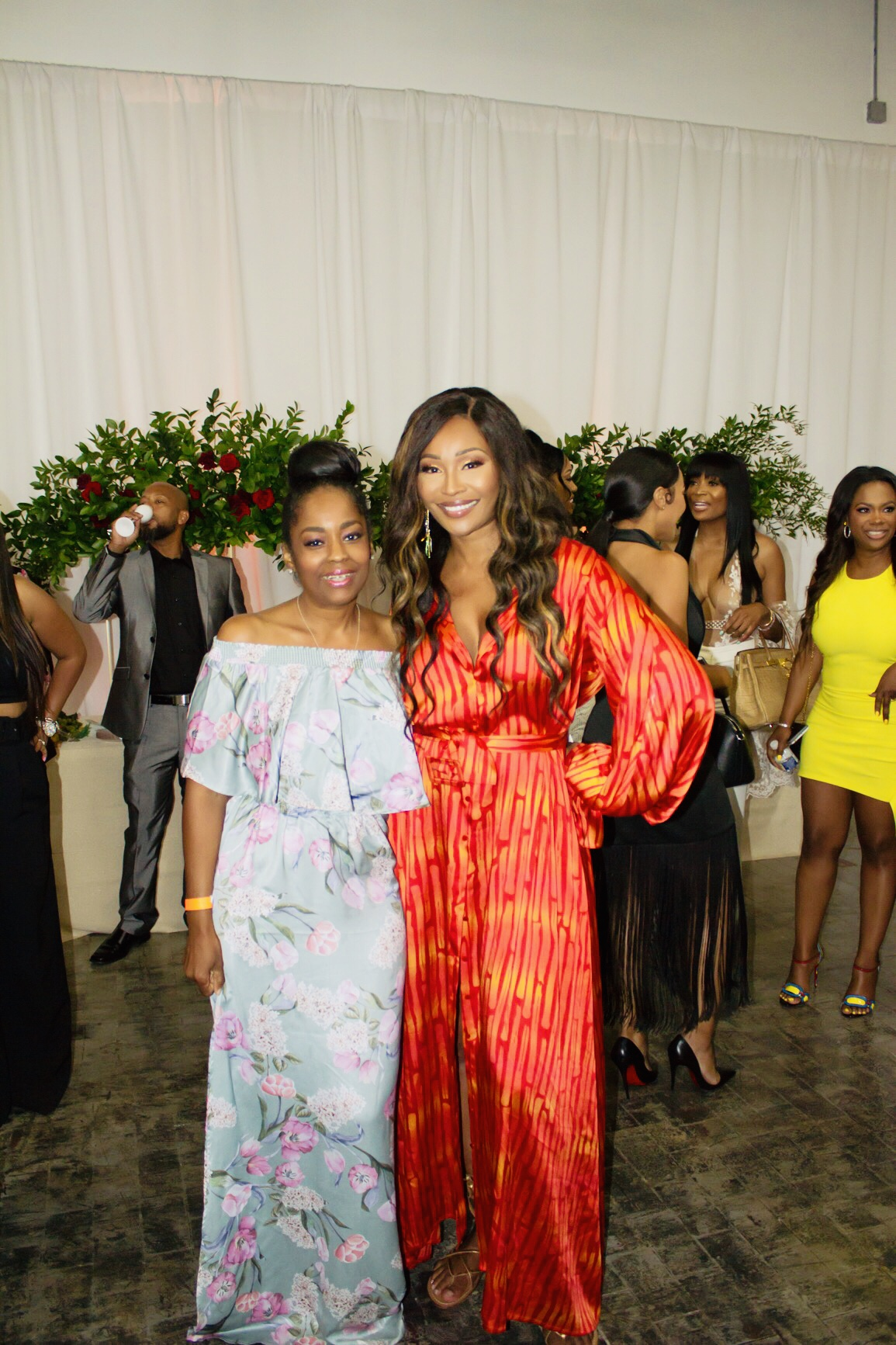 Cynthia Bailey's Sip N See & Surprise Engagement