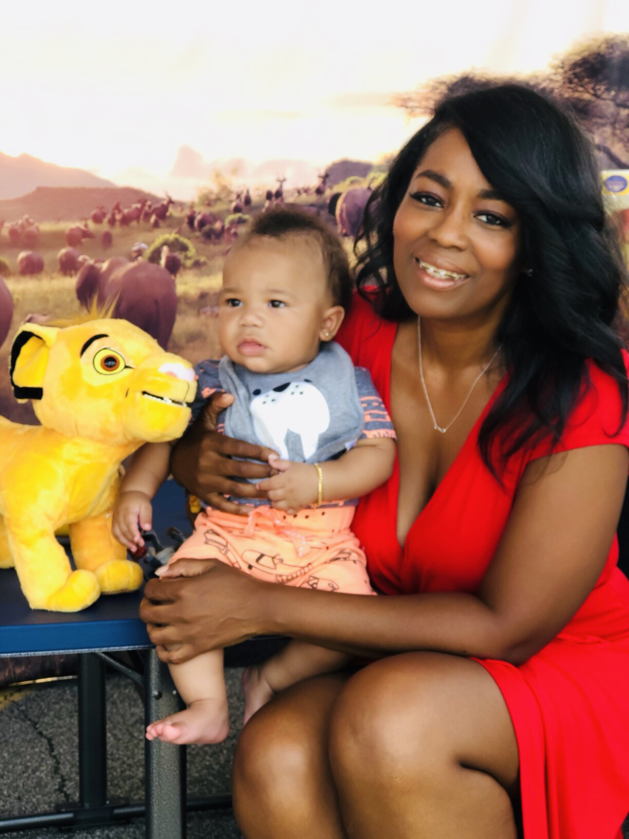 Disney The Lion King Experience At Walmart With Special Appearance By Kenya Moore